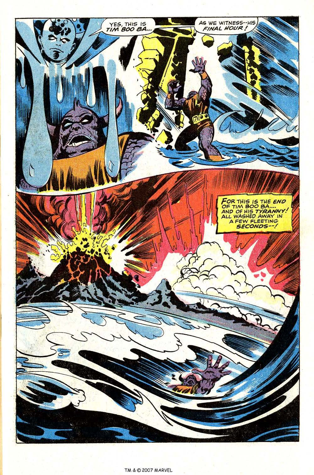 Read online Silver Surfer (1968) comic -  Issue #4 - 61