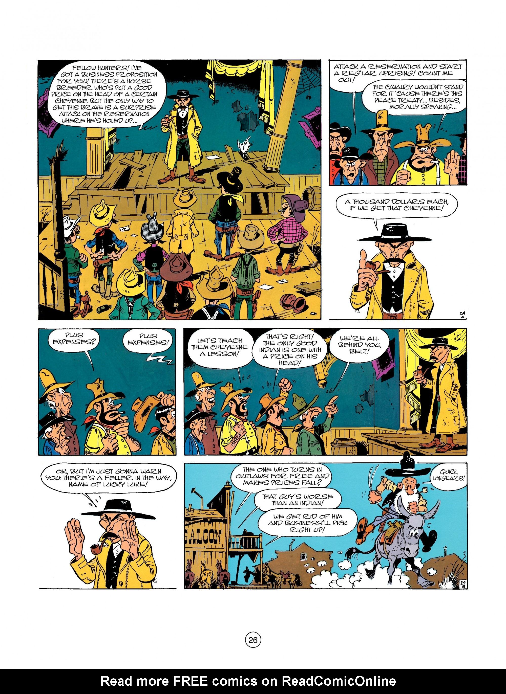 Read online A Lucky Luke Adventure comic -  Issue #26 - 26