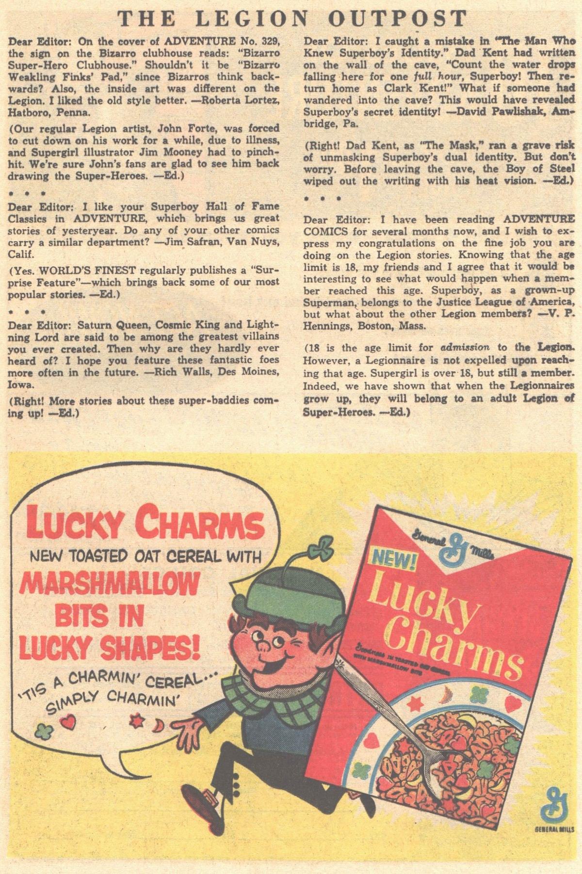 Read online Adventure Comics (1938) comic -  Issue #334 - 33