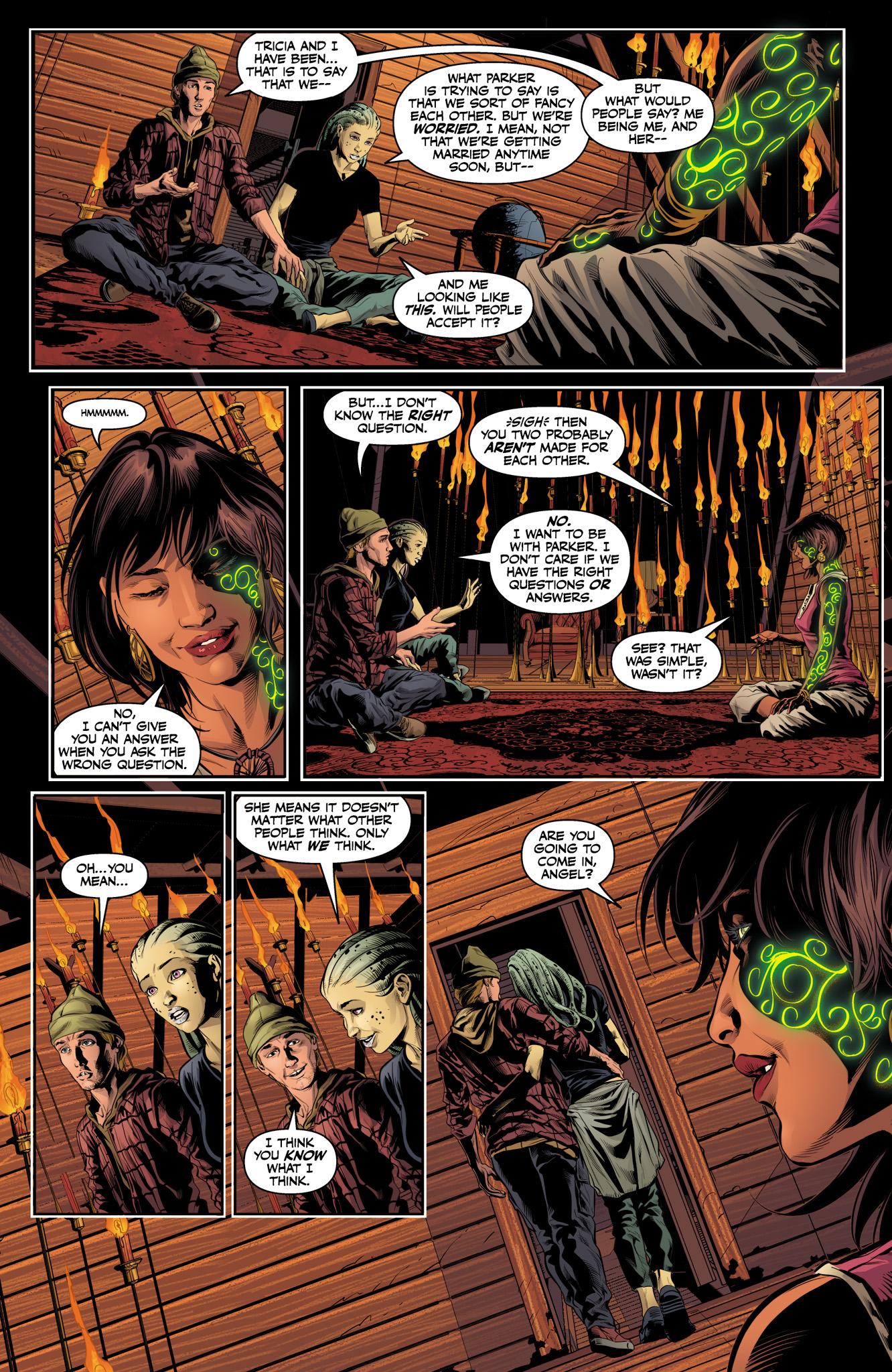 Read online Angel & Faith Season 10 comic -  Issue #10 - 11