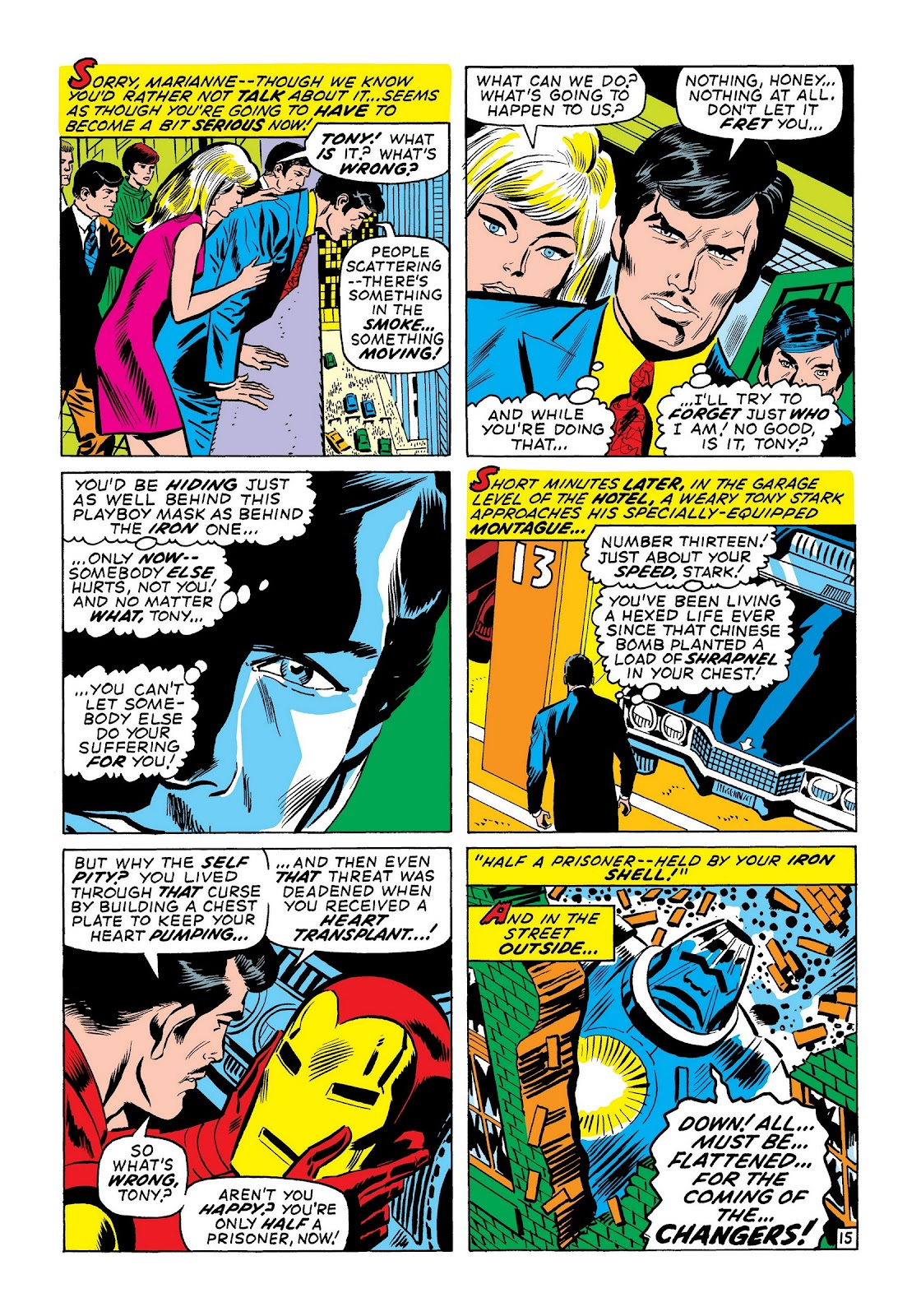 Read online Marvel Masterworks: The Invincible Iron Man comic -  Issue # TPB 7 (Part 3) - 43