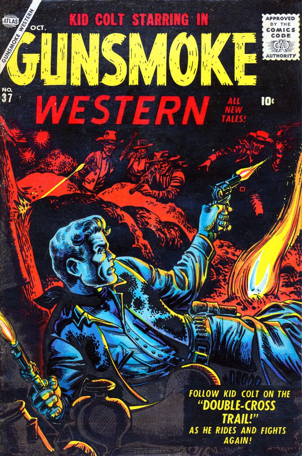 Gunsmoke Western issue 37 - Page 1