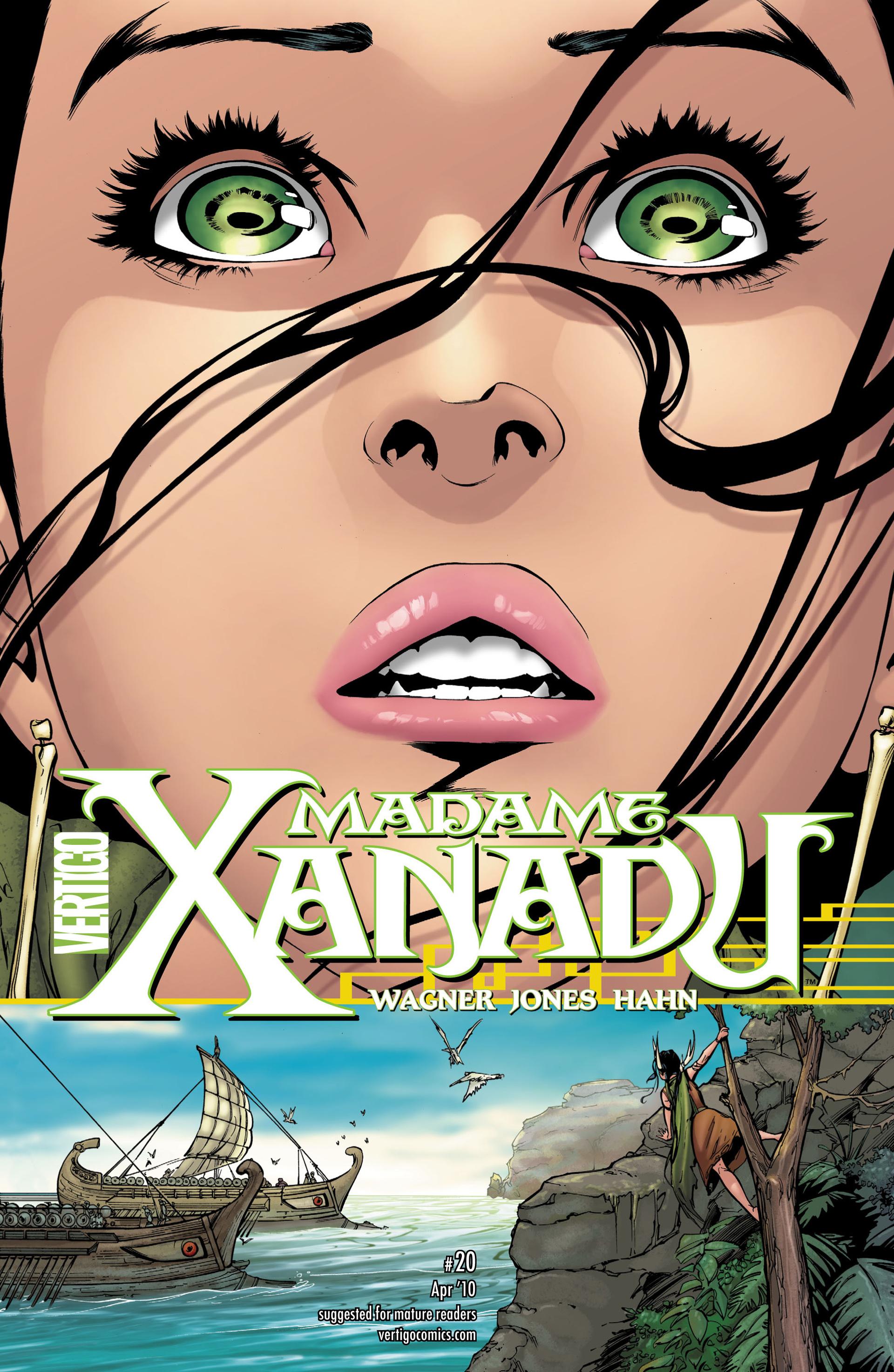 Madame Xanadu issue 20 - Page 1