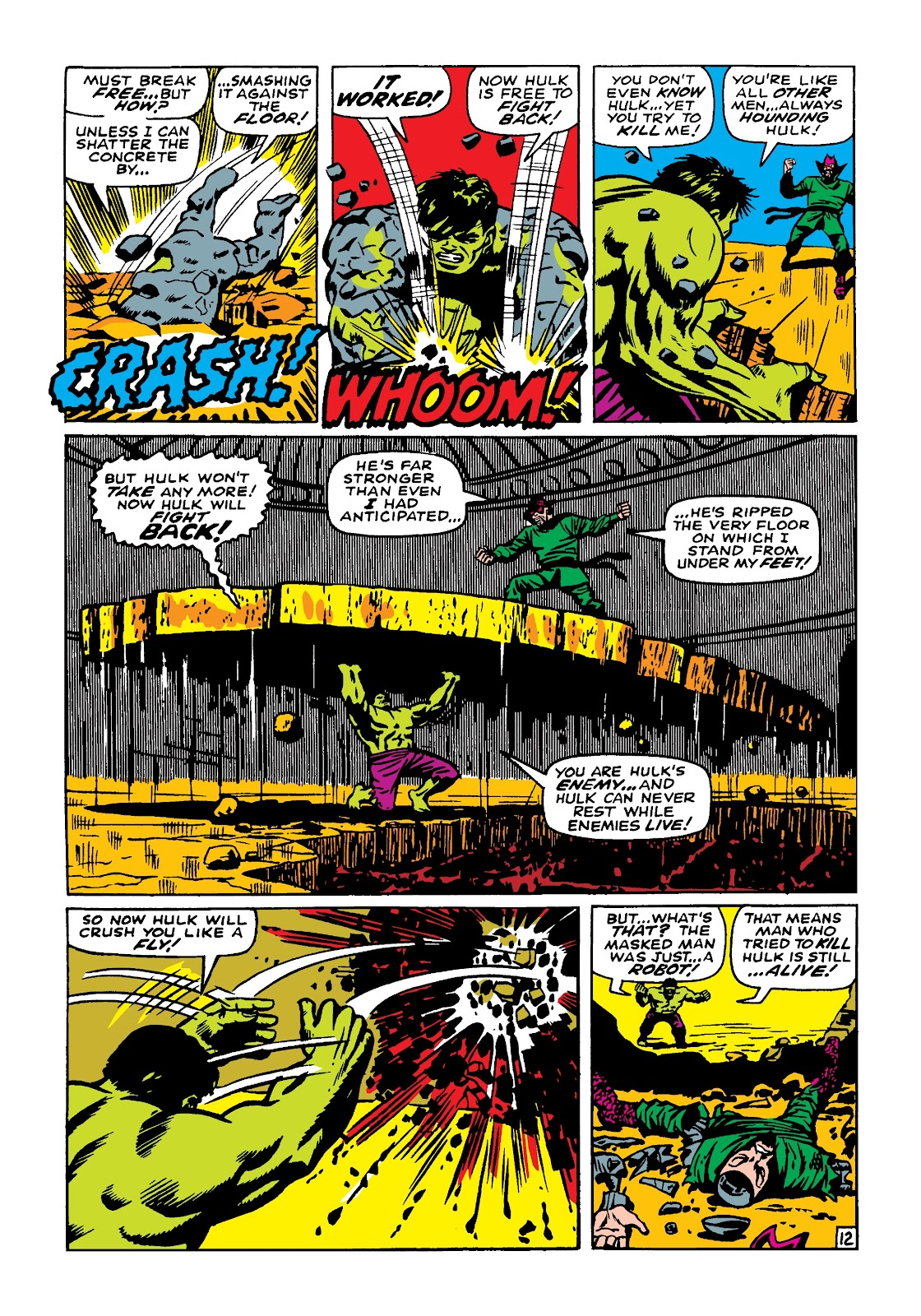 Read online Marvel Masterworks: The Incredible Hulk comic -  Issue # TPB 4 (Part 2) - 3