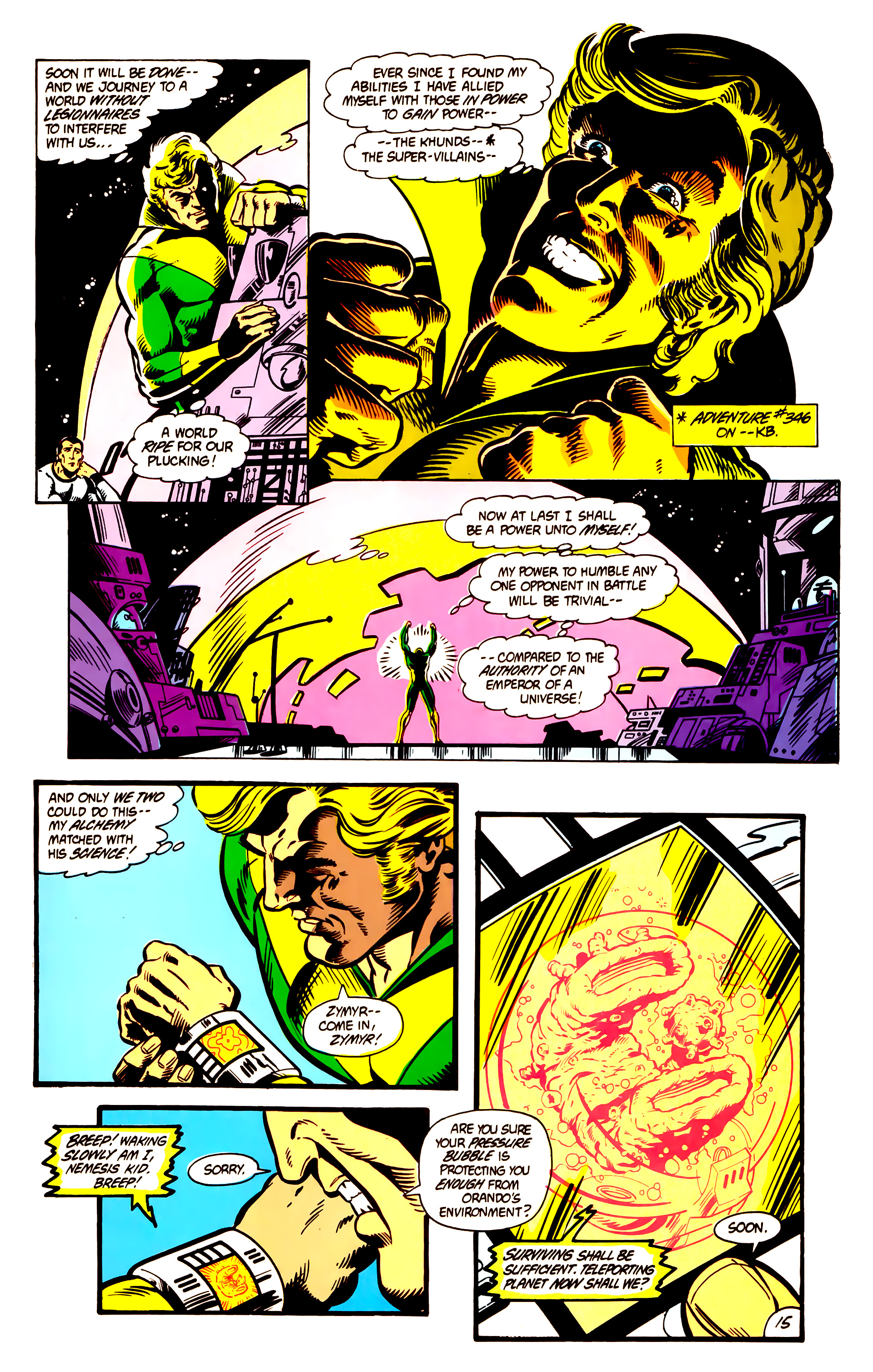 Legion of Super-Heroes (1984) 3 Page 16