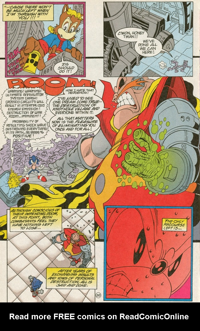 Read online Sonic Super Special comic -  Issue #6 - The big 50 - 31