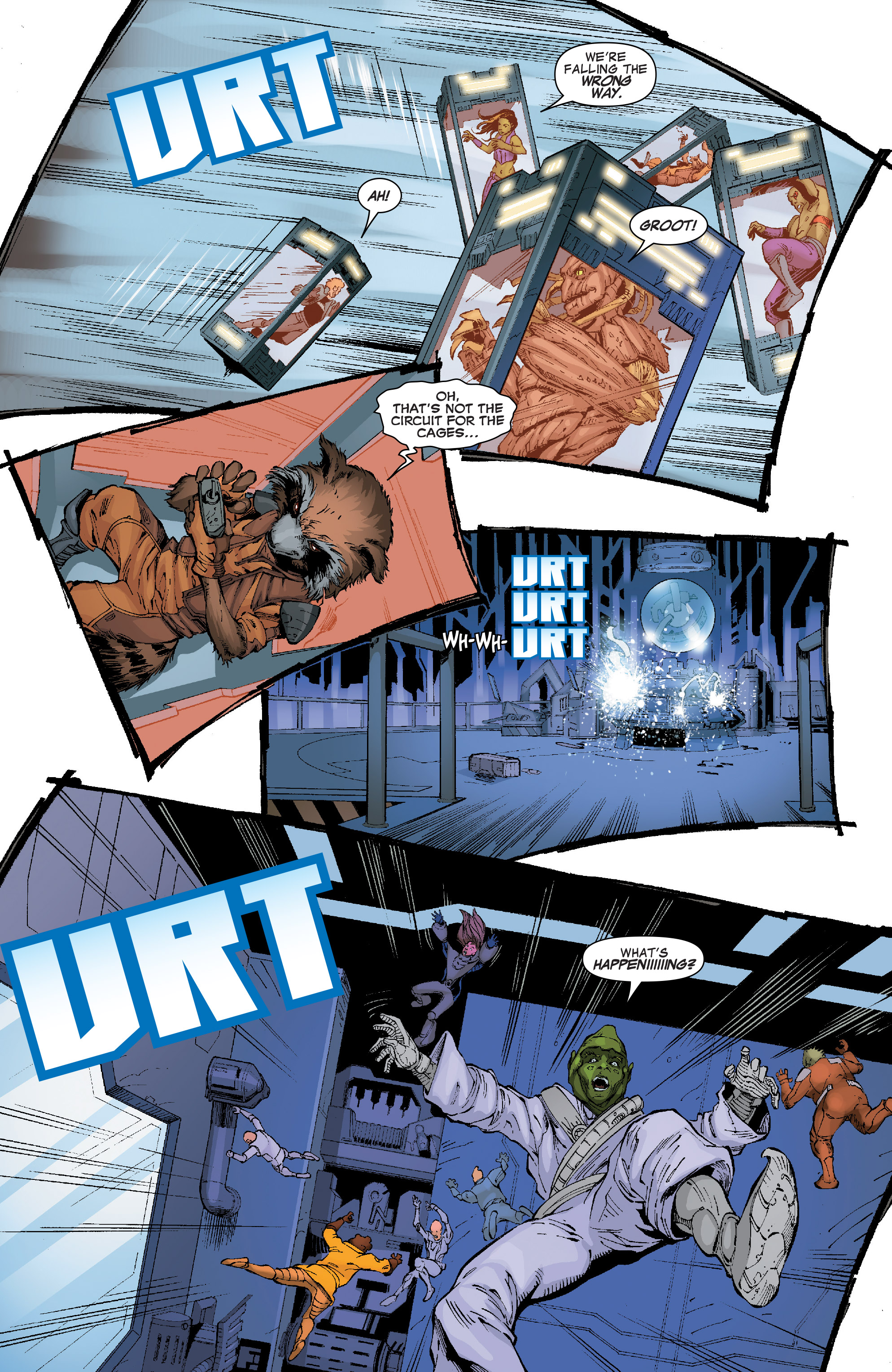 Read online Guardians of the Galaxy: Mission Breakout comic -  Issue # Full - 19
