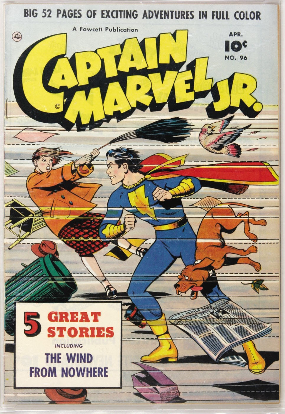 Captain Marvel, Jr. issue 96 - Page 1
