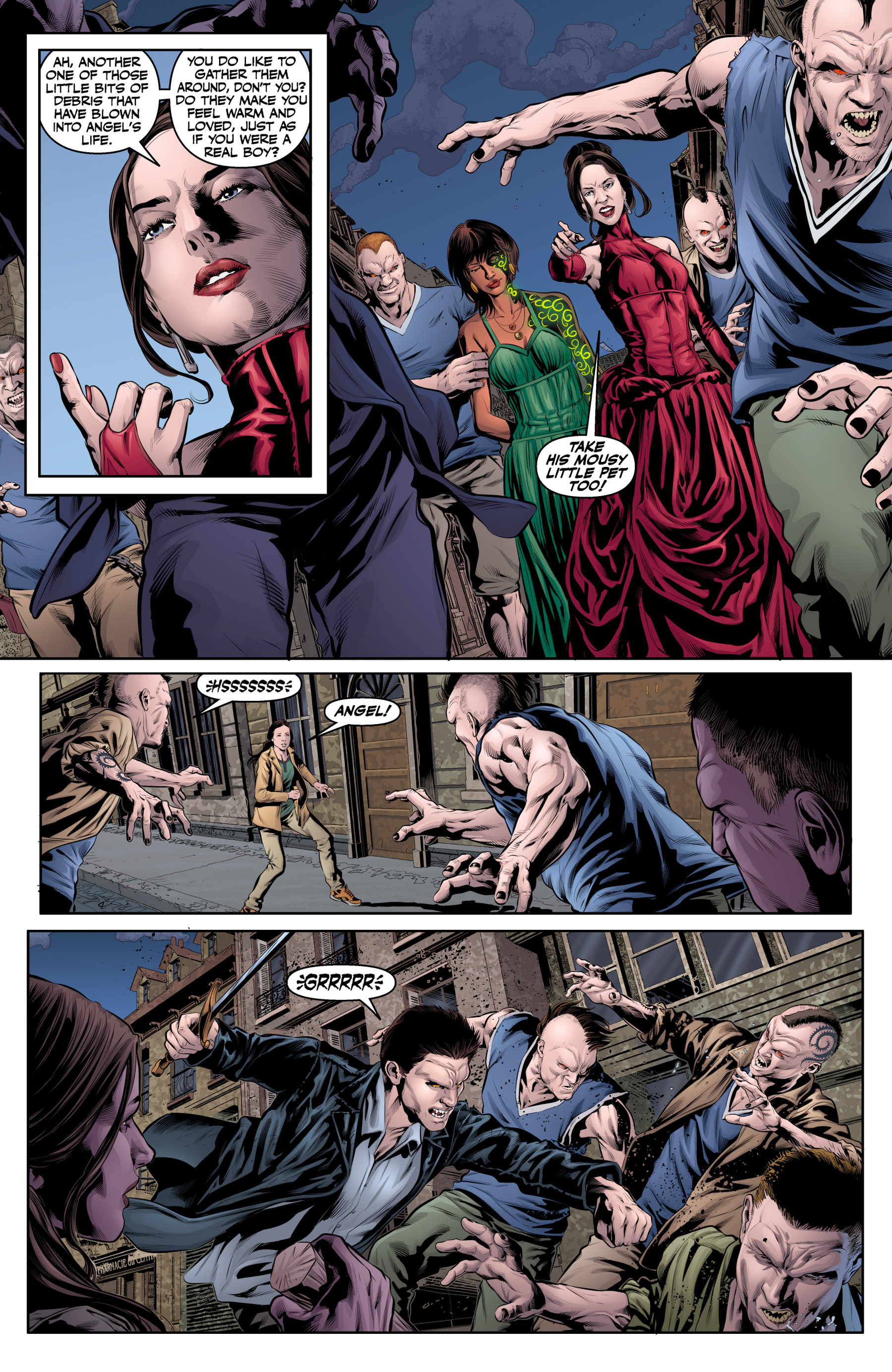 Read online Angel & Faith Season 10 comic -  Issue #20 - 5