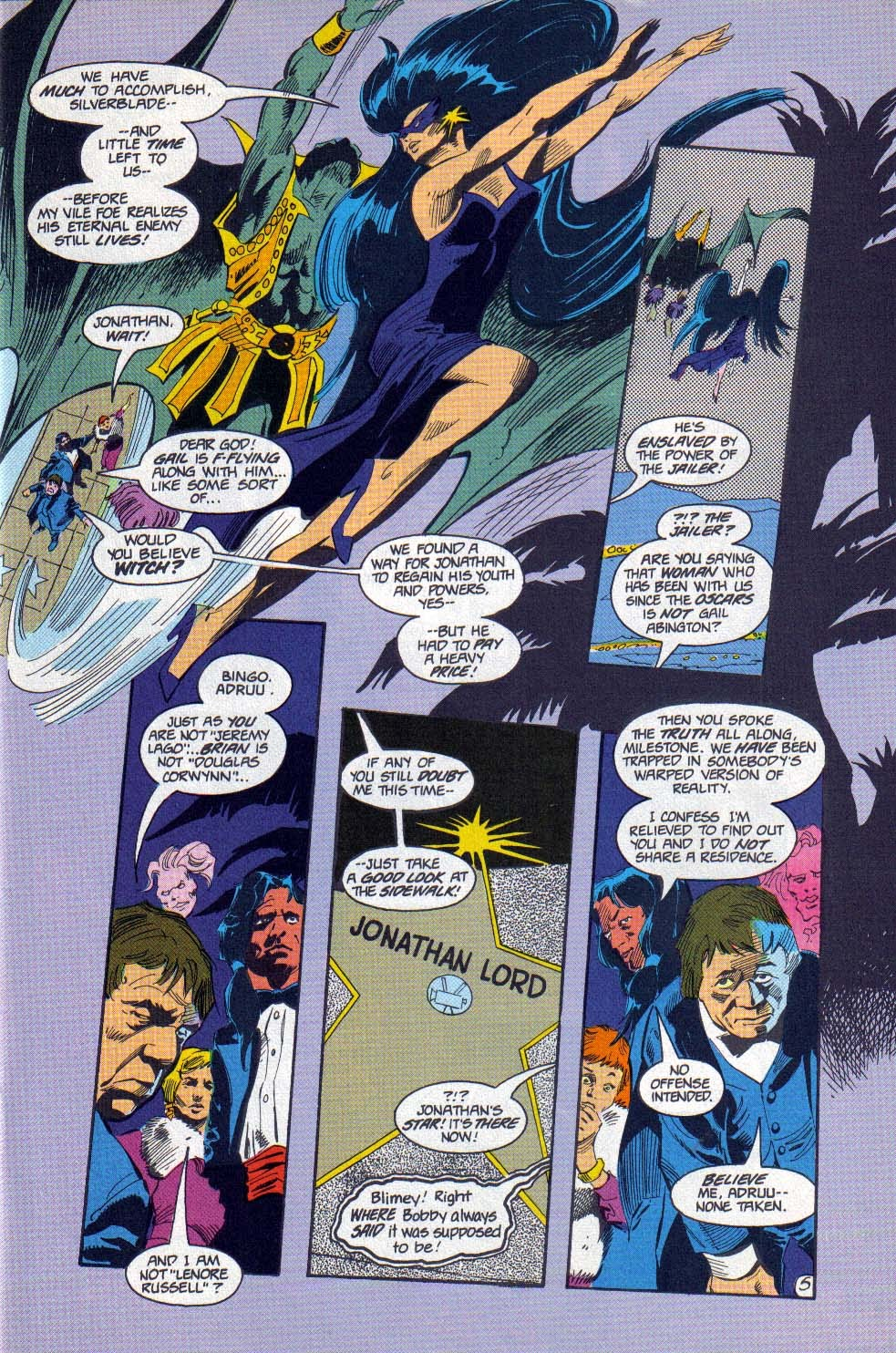 Silverblade issue 11 - Page 5
