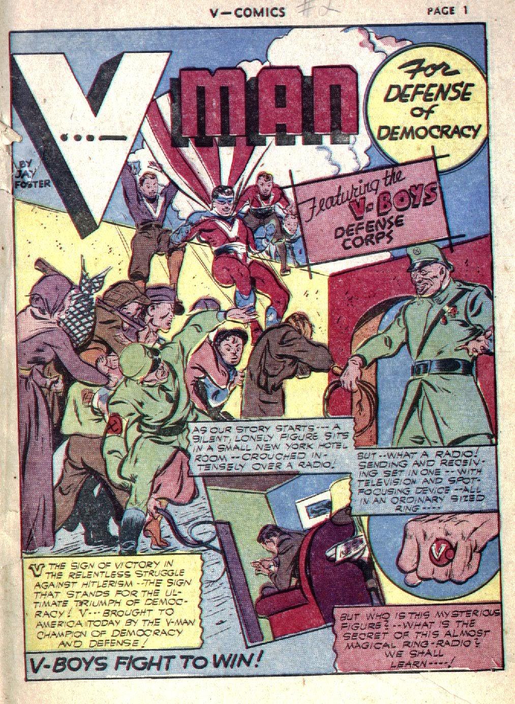 Read online V...- Comics comic -  Issue #1 - 3