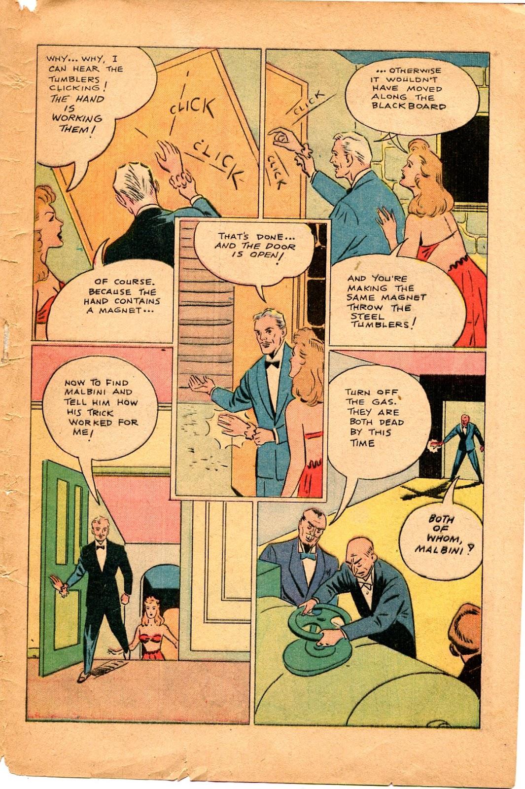 Read online Super-Magician Comics comic -  Issue #34 - 49