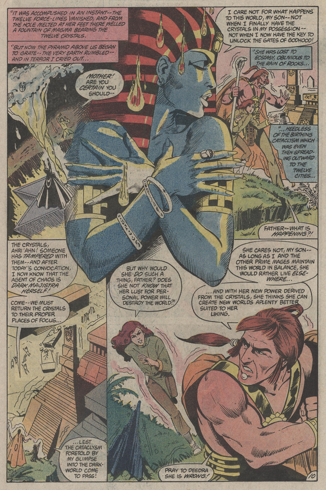 Read online Arion, Lord of Atlantis comic -  Issue #4 - 10