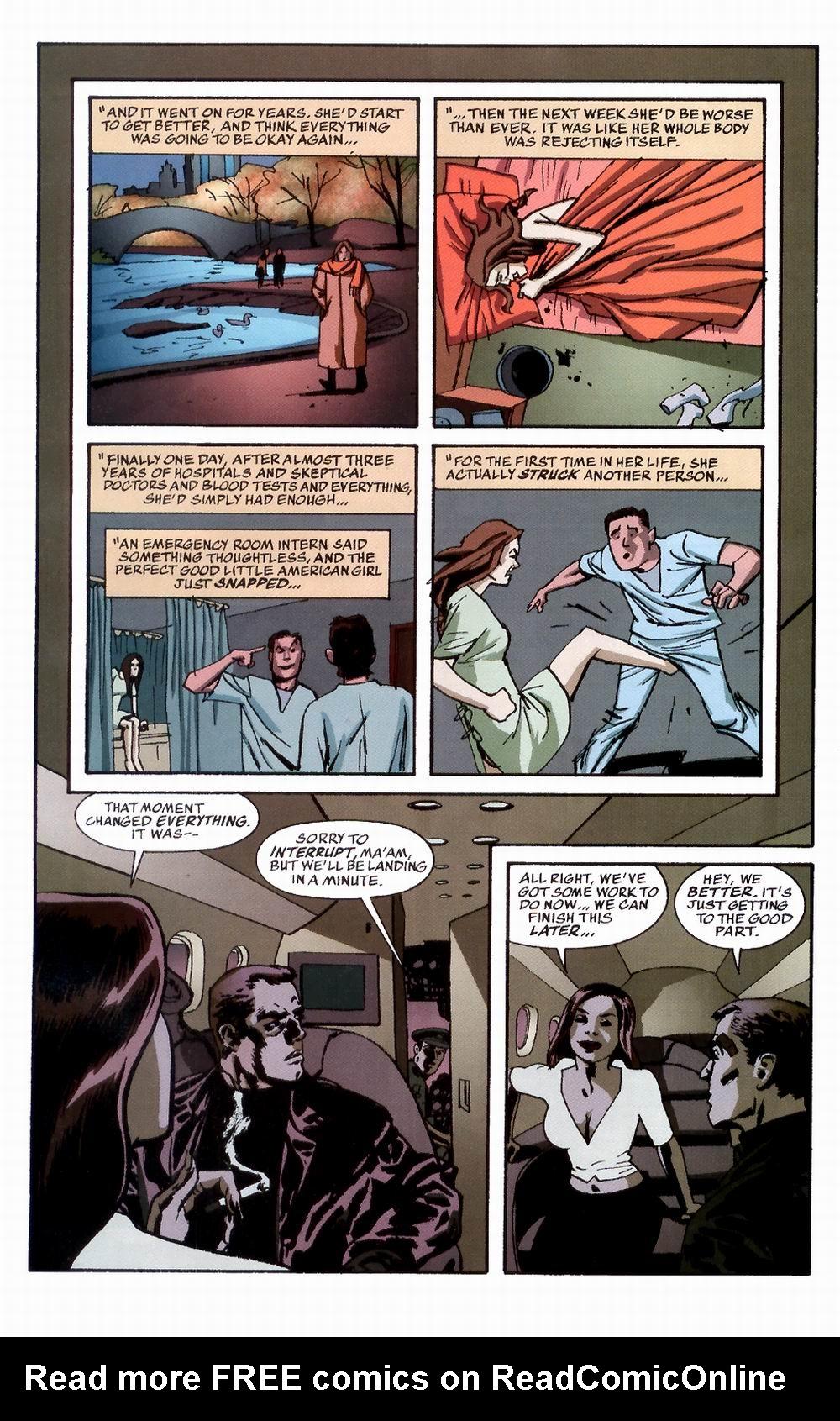 Read online Sleeper comic -  Issue #3 - 18