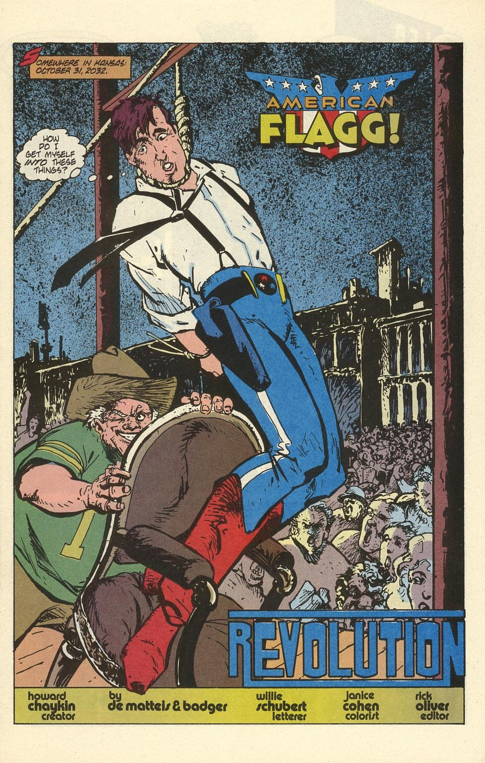 Read online American Flagg! comic -  Issue #41 - 3