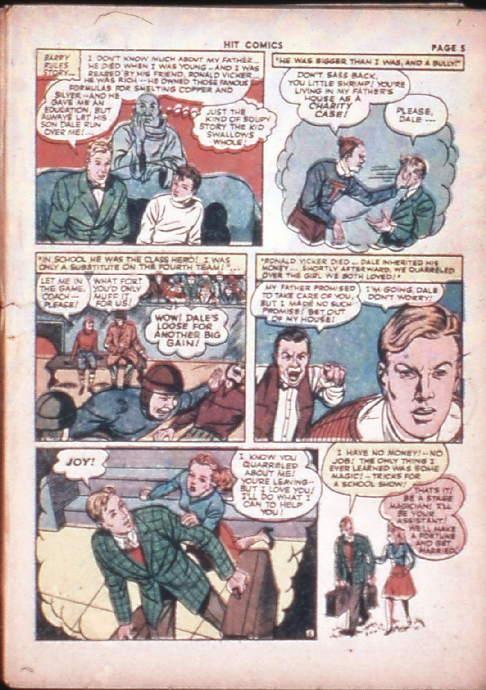 Read online Hit Comics comic -  Issue #29 - 7