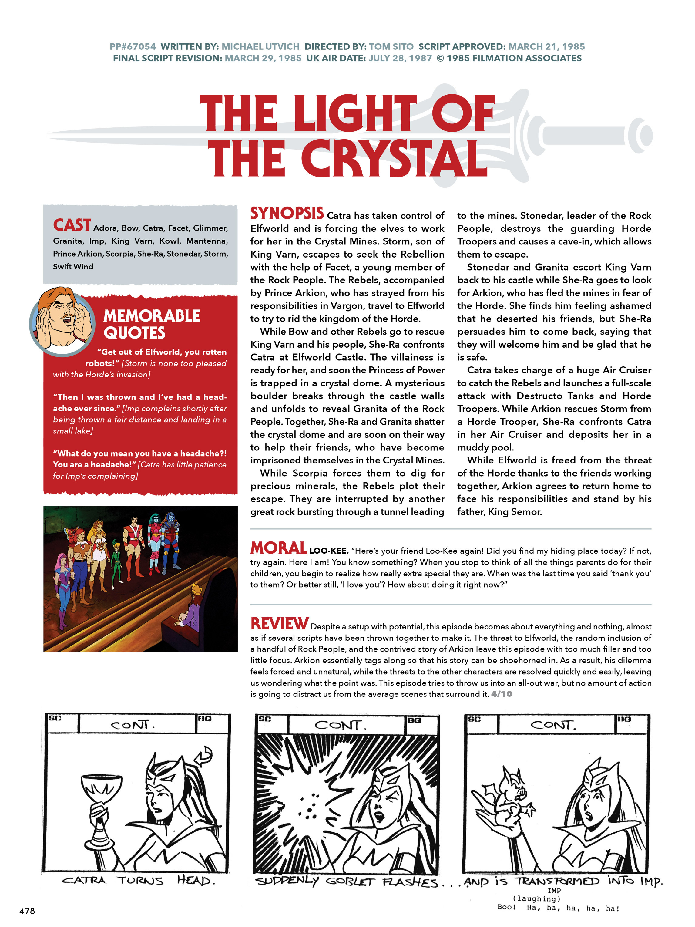 Read online He-Man and She-Ra: A Complete Guide to the Classic Animated Adventures comic -  Issue # TPB (Part 3) - 78