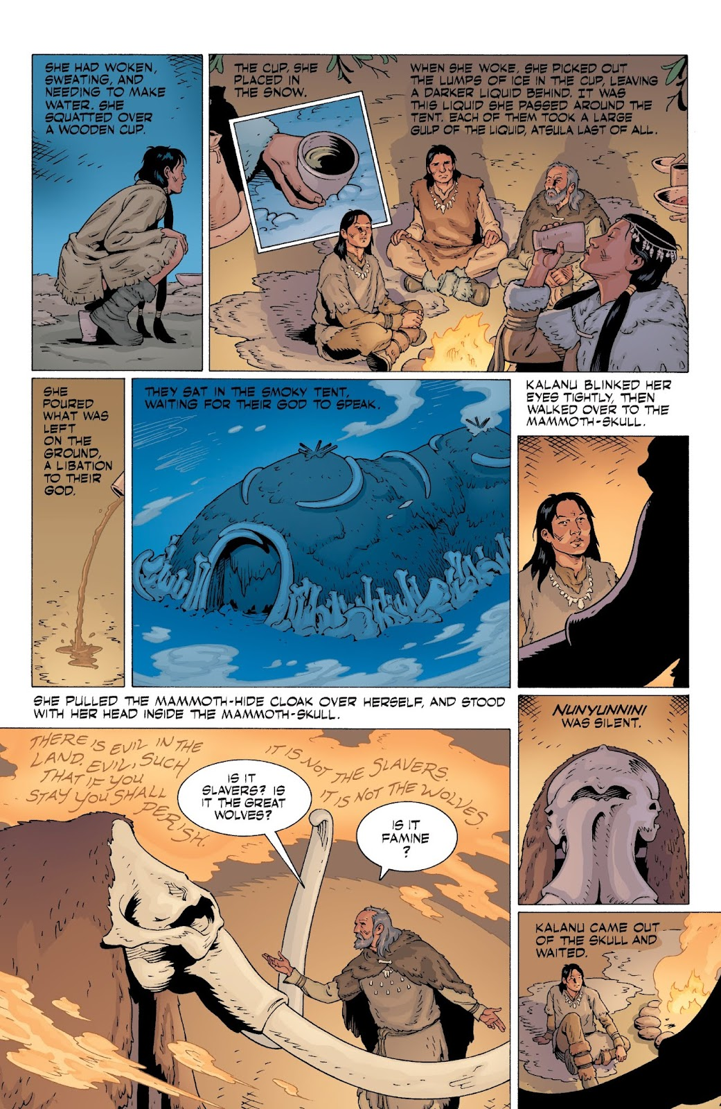 American Gods: My Ainsel issue 9 - Page 20