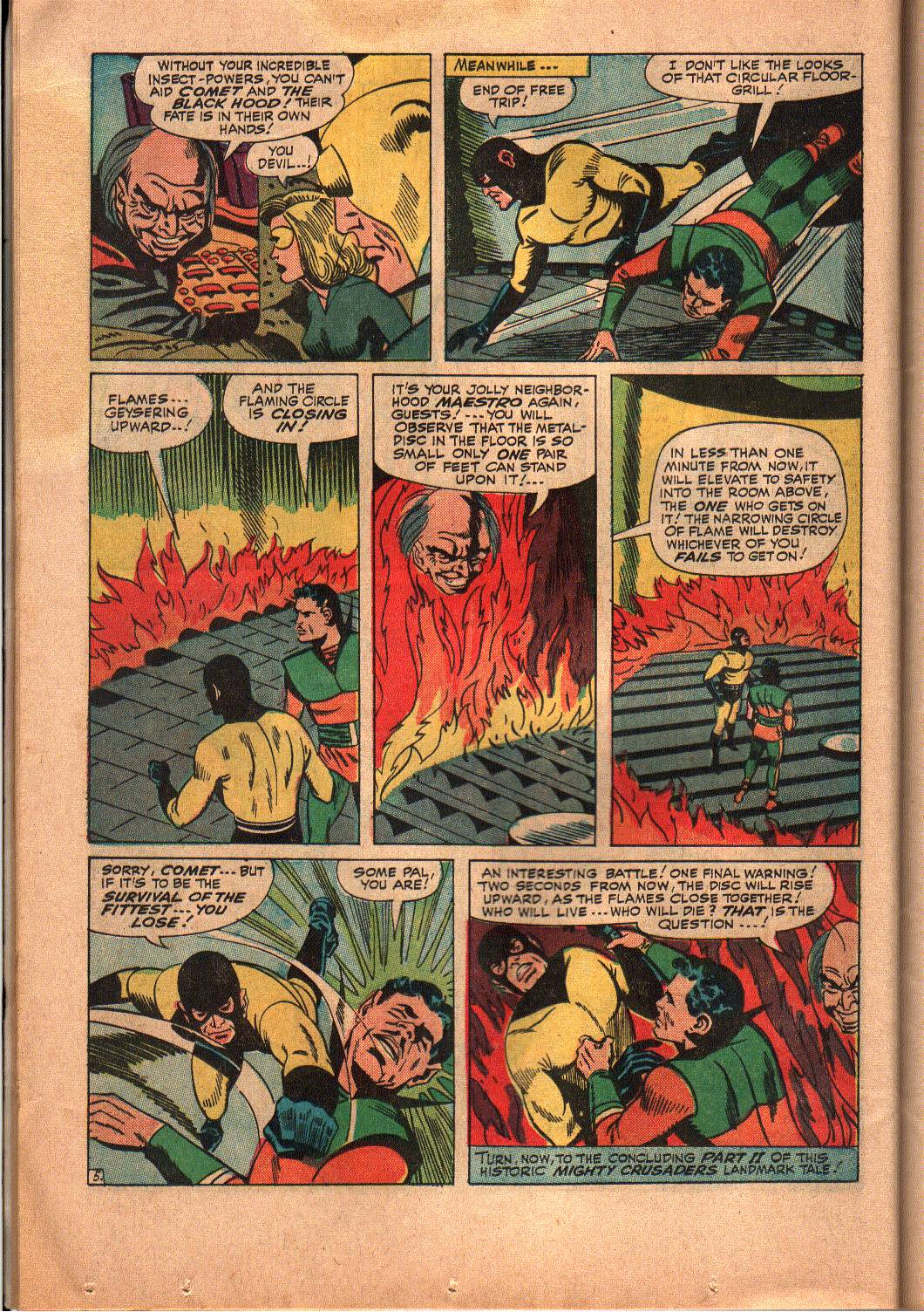 The Mighty Crusaders (1965) Issue #6 #6 - English 20