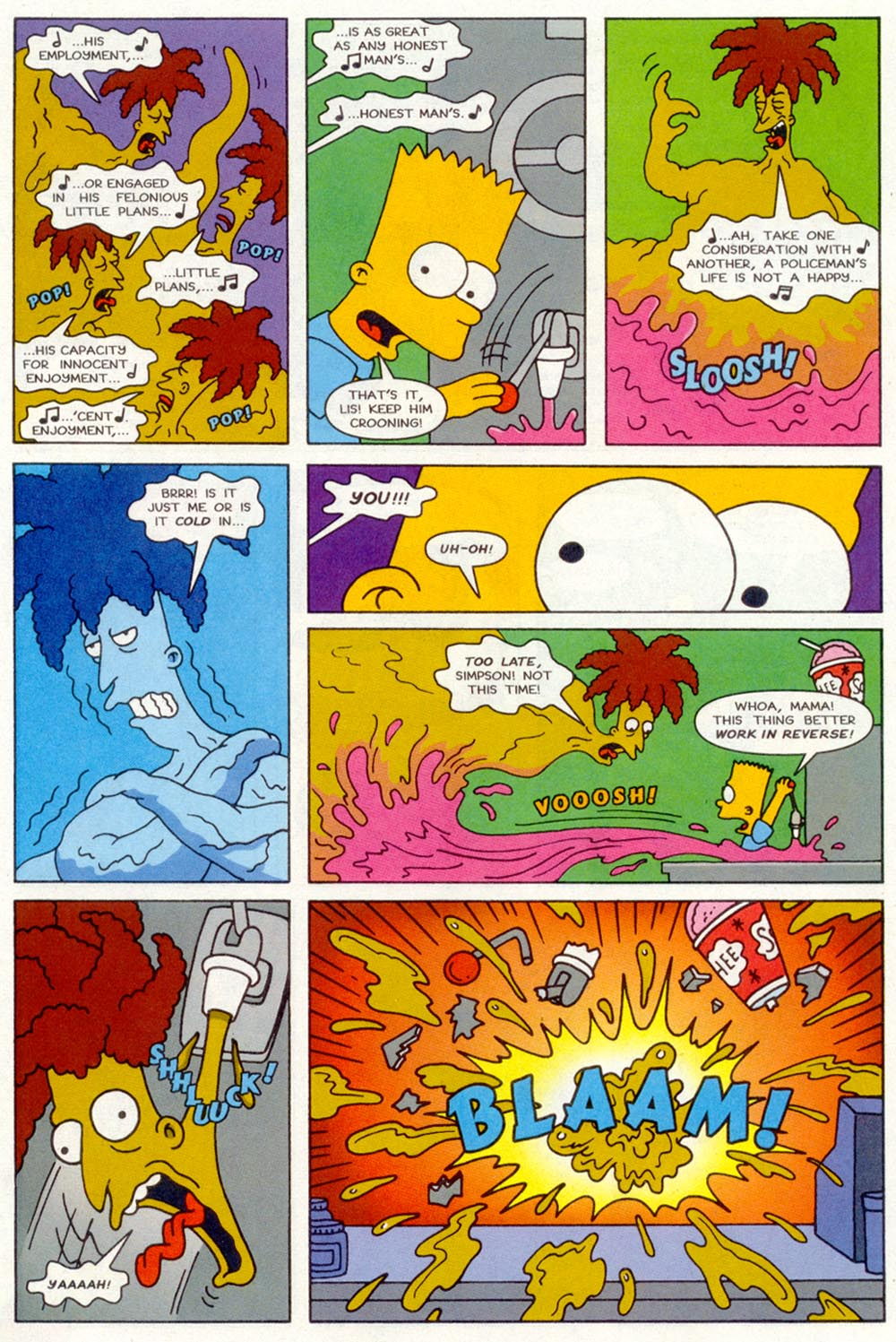 Read online Treehouse of Horror comic -  Issue #2 - 14
