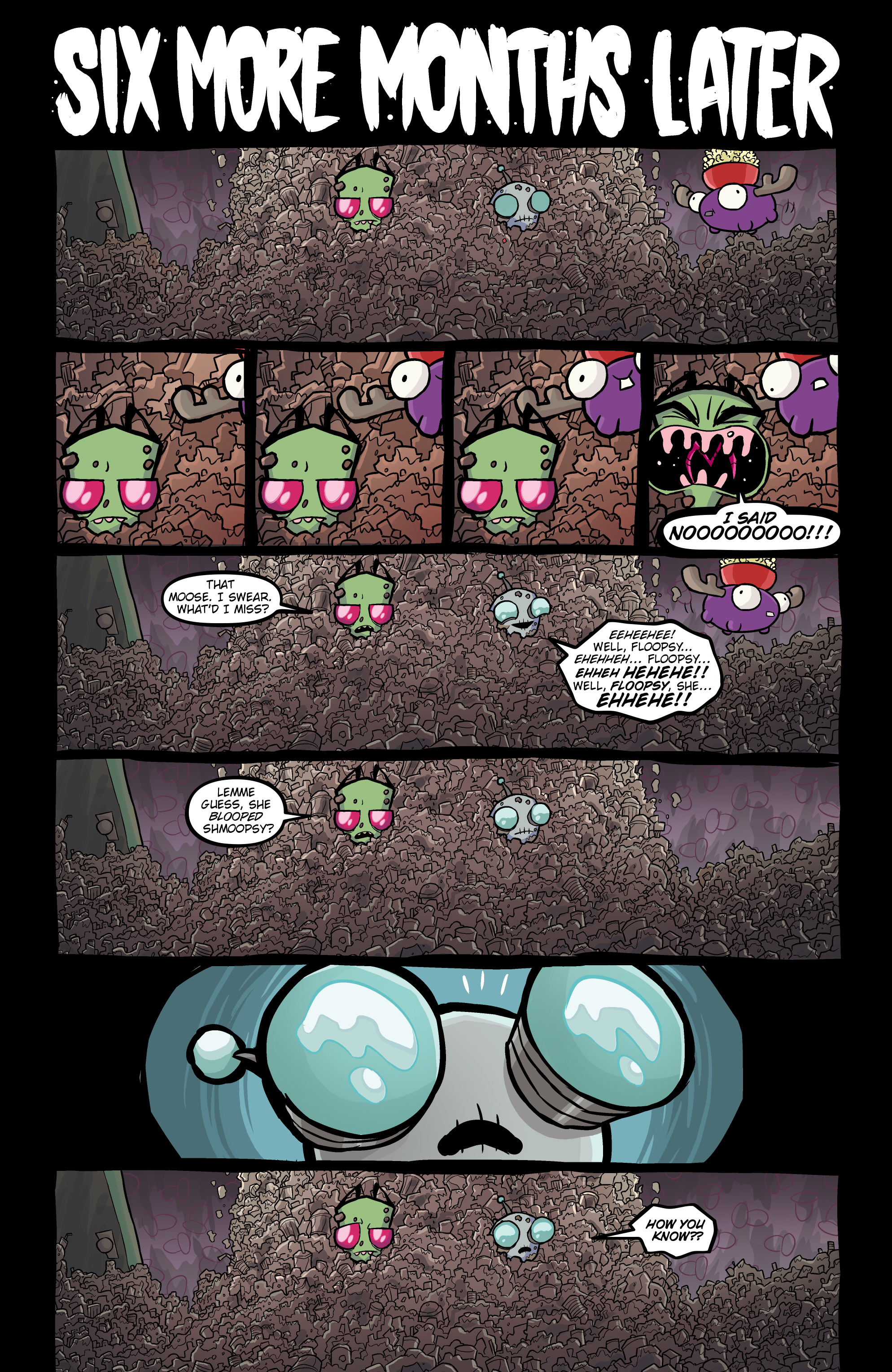Read online Invader Zim comic -  Issue #20 - 21