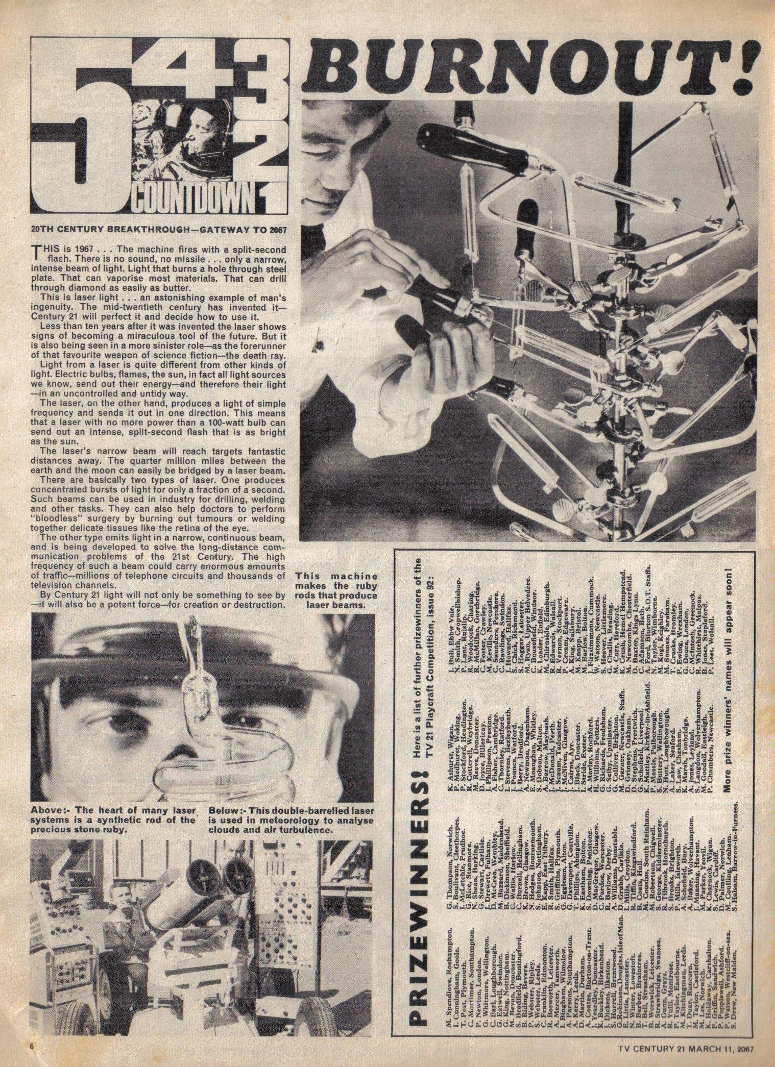 Read online TV Century 21 (TV 21) comic -  Issue #112 - 6