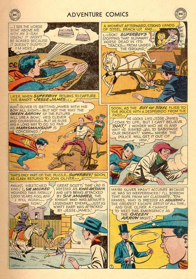 Read online Adventure Comics (1938) comic -  Issue #258 - 9