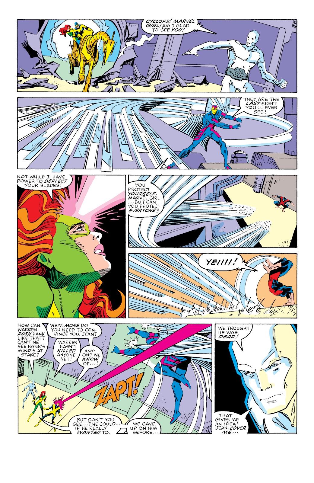 Read online X-Men Milestones: Fall of the Mutants comic -  Issue # TPB (Part 3) - 32