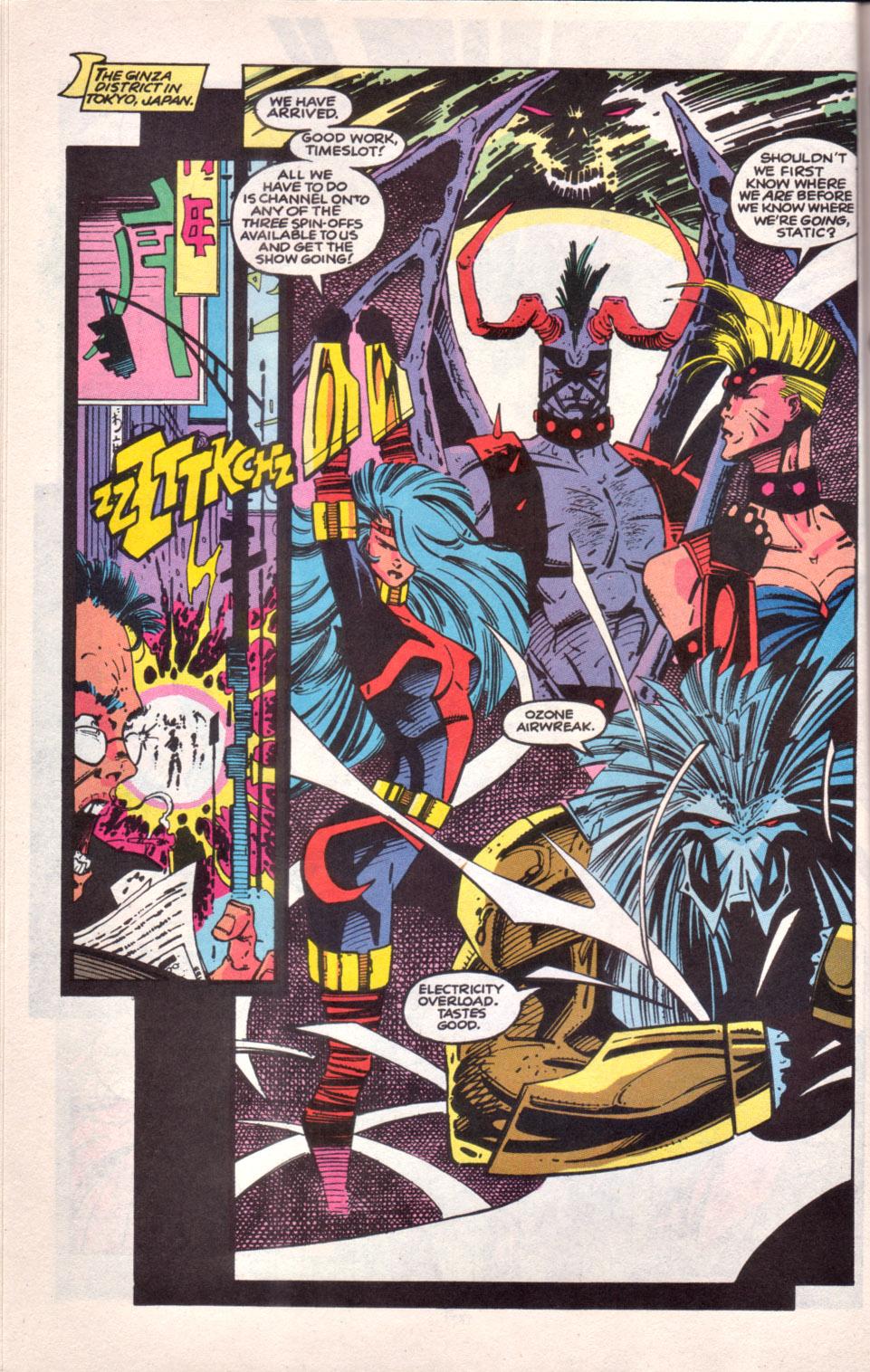 Read online Uncanny X-Men (1963) comic -  Issue # _Annual 16 - 16