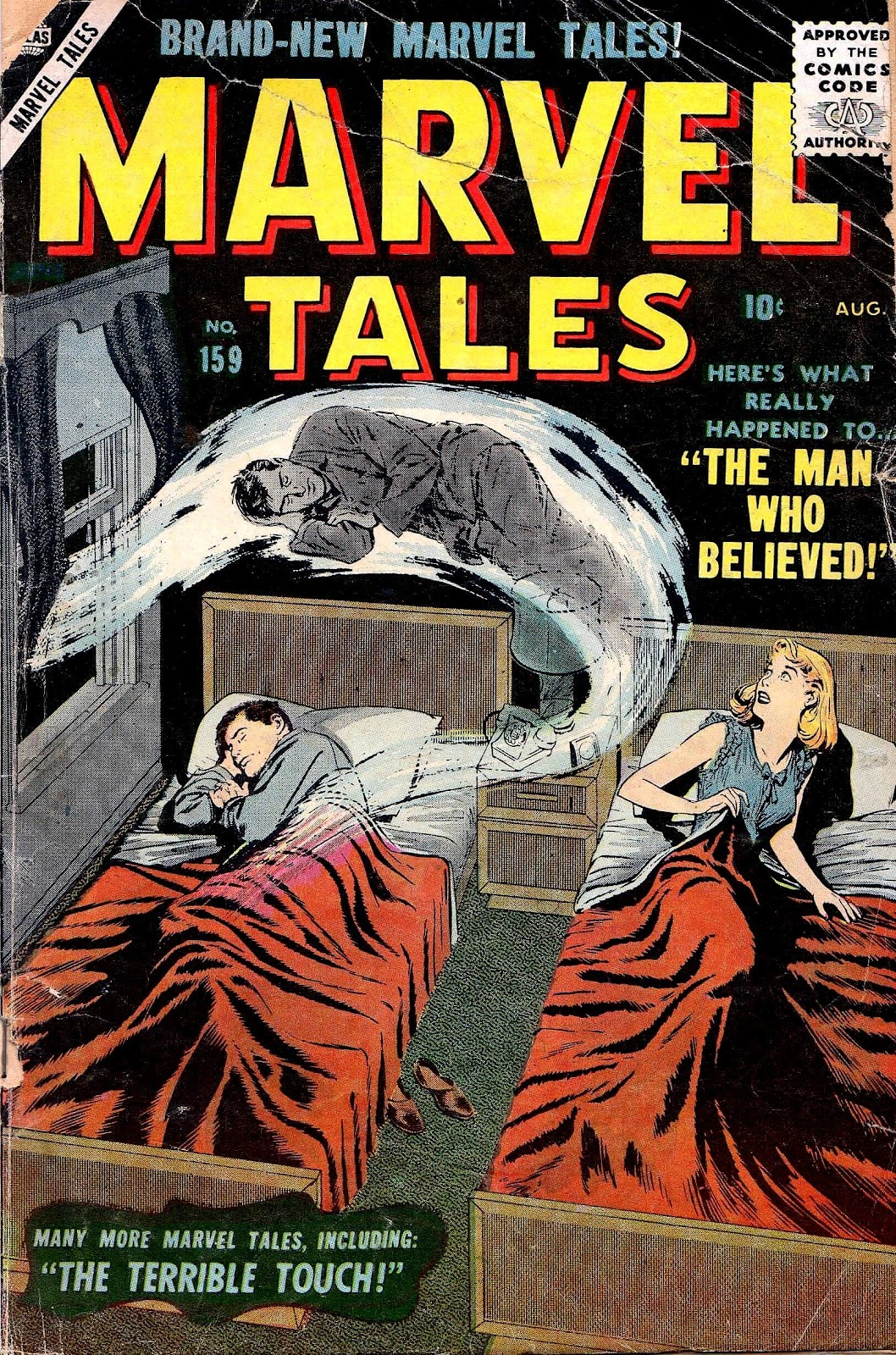 Marvel Tales (1949) issue 159 - Page 1