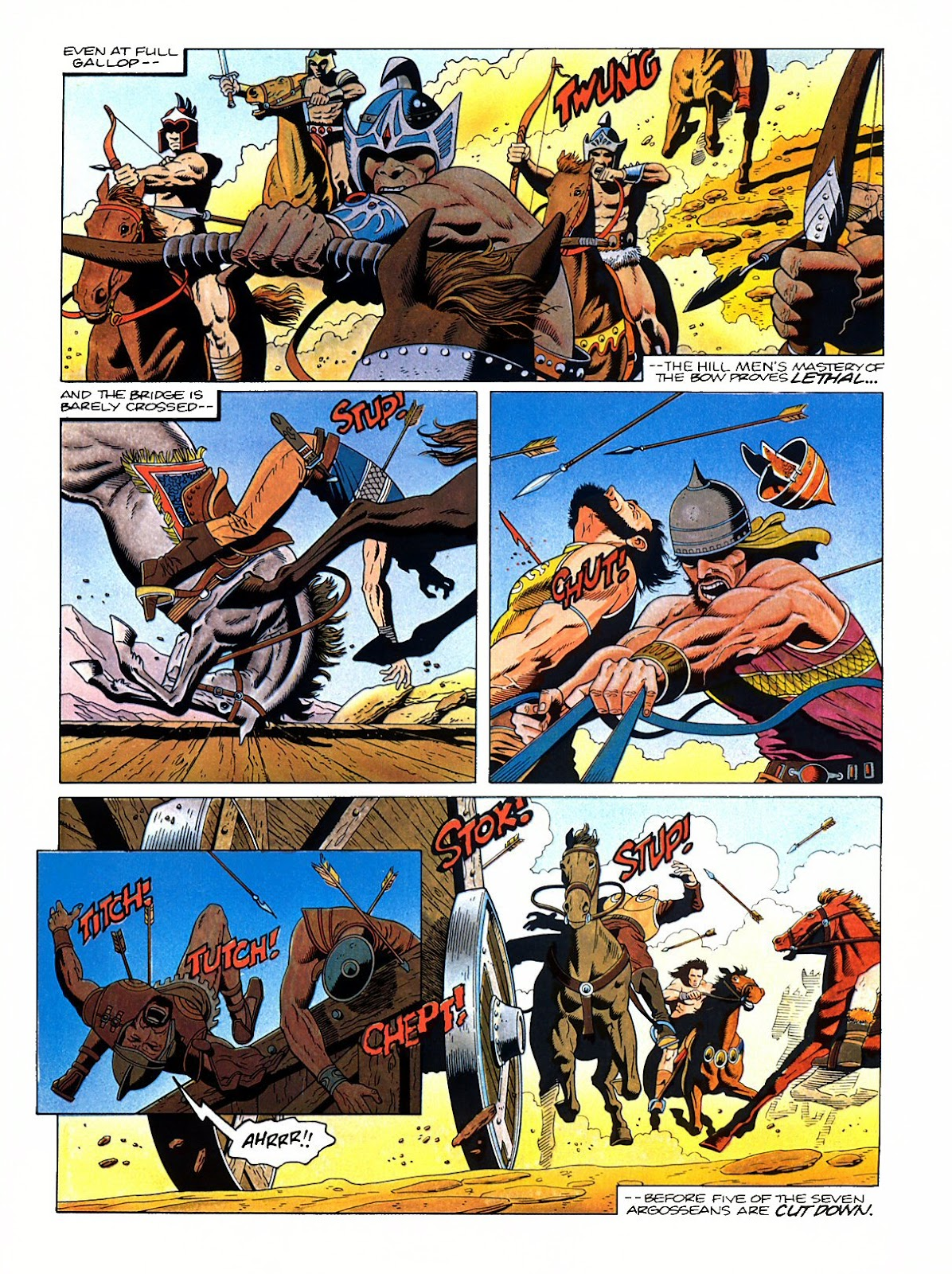 Read online Marvel Graphic Novel: Conan the Barbarian: The Skull of Set comic -  Issue # Full - 13