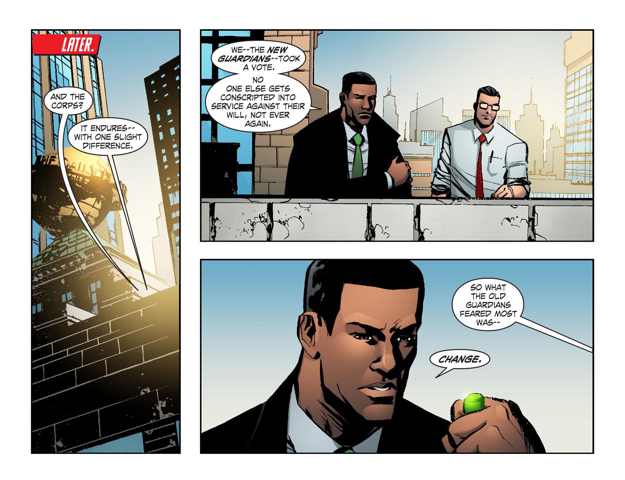 Read online Smallville: Lantern [I] comic -  Issue #12 - 15
