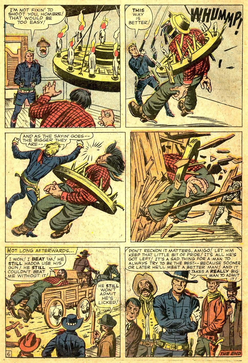 Gunsmoke Western issue 63 - Page 18