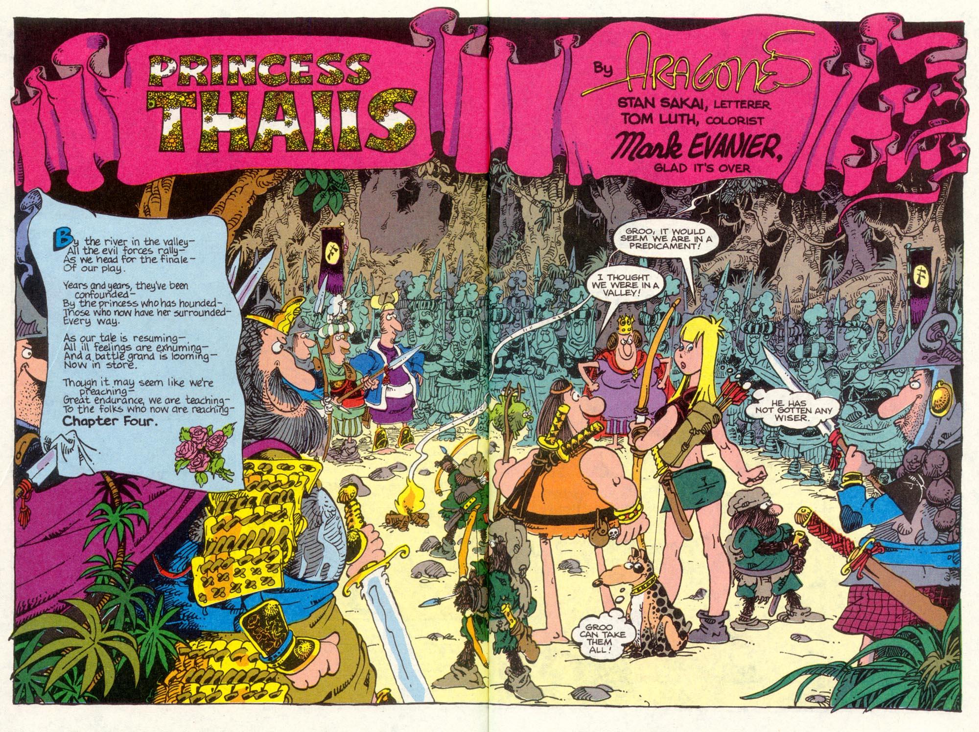 Read online Sergio Aragonés Groo the Wanderer comic -  Issue #83 - 3