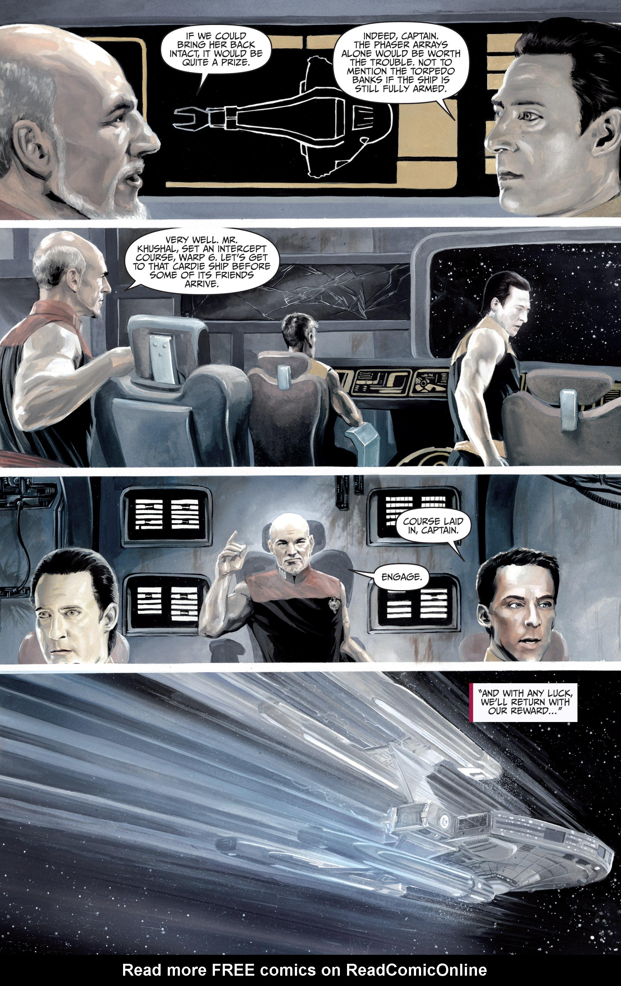 Read online Star Trek: Boldly Go comic -  Issue #8 - 32