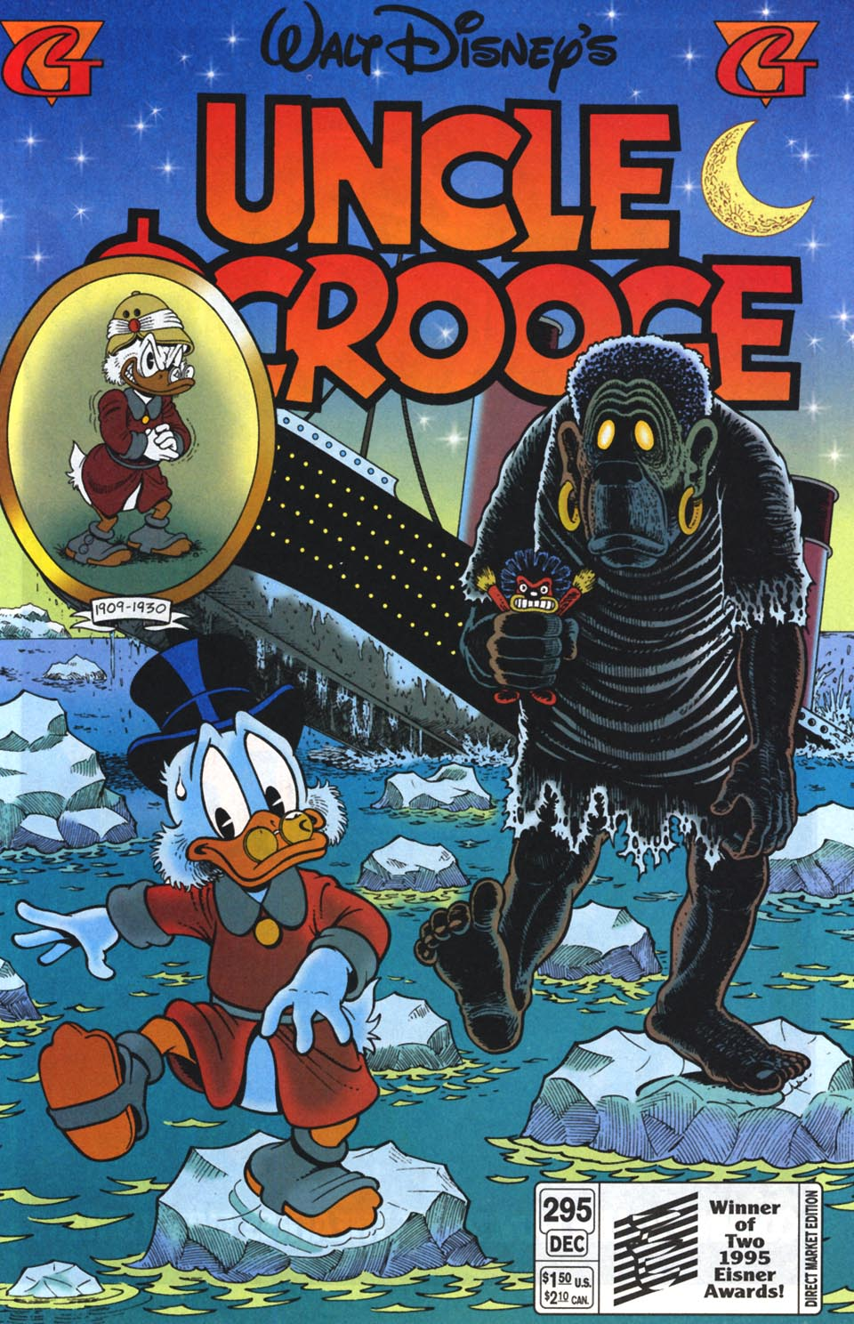 Read online Uncle Scrooge (1953) comic -  Issue #295 - 1