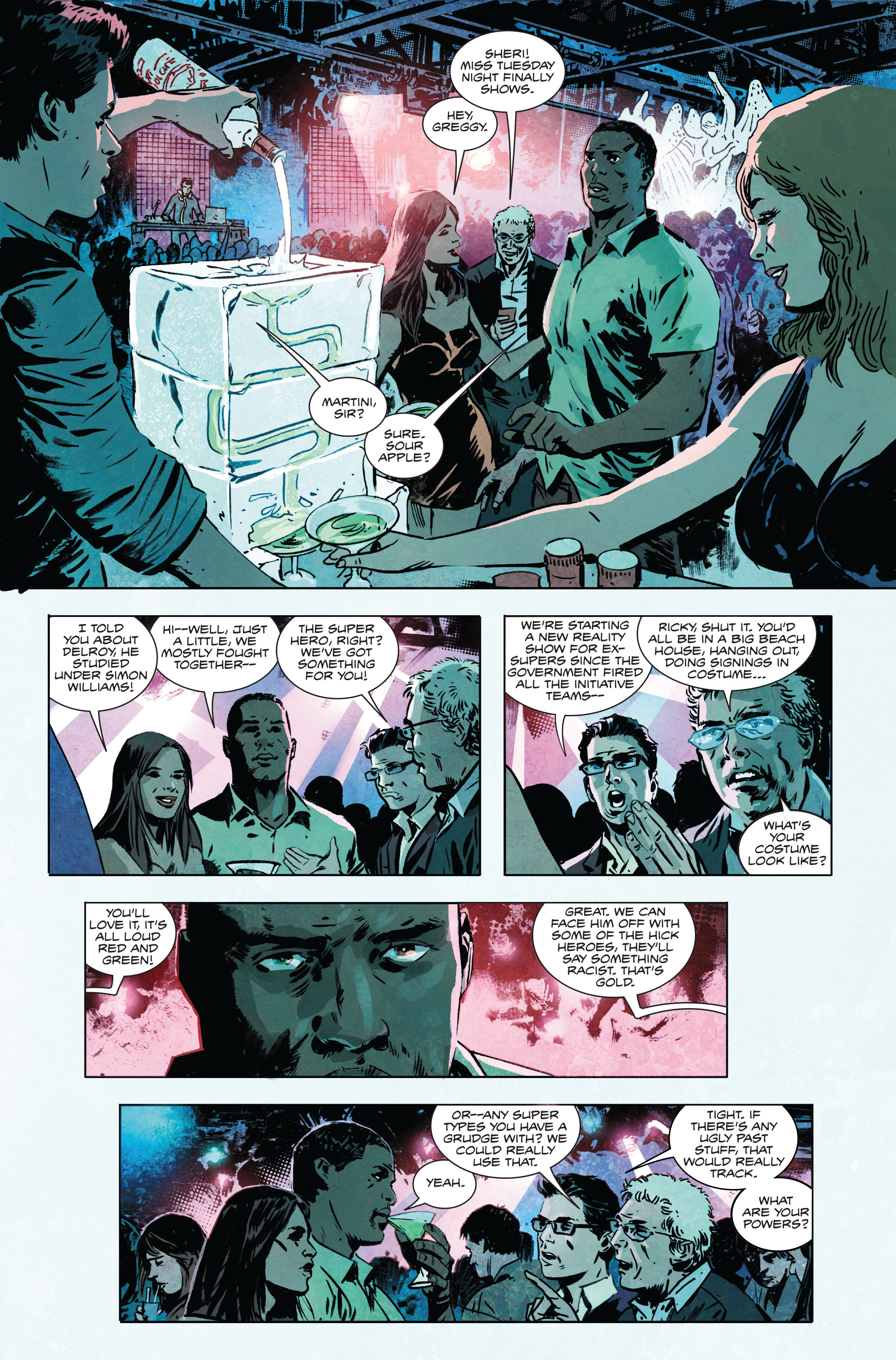 Read online Atlas comic -  Issue #1 - 7