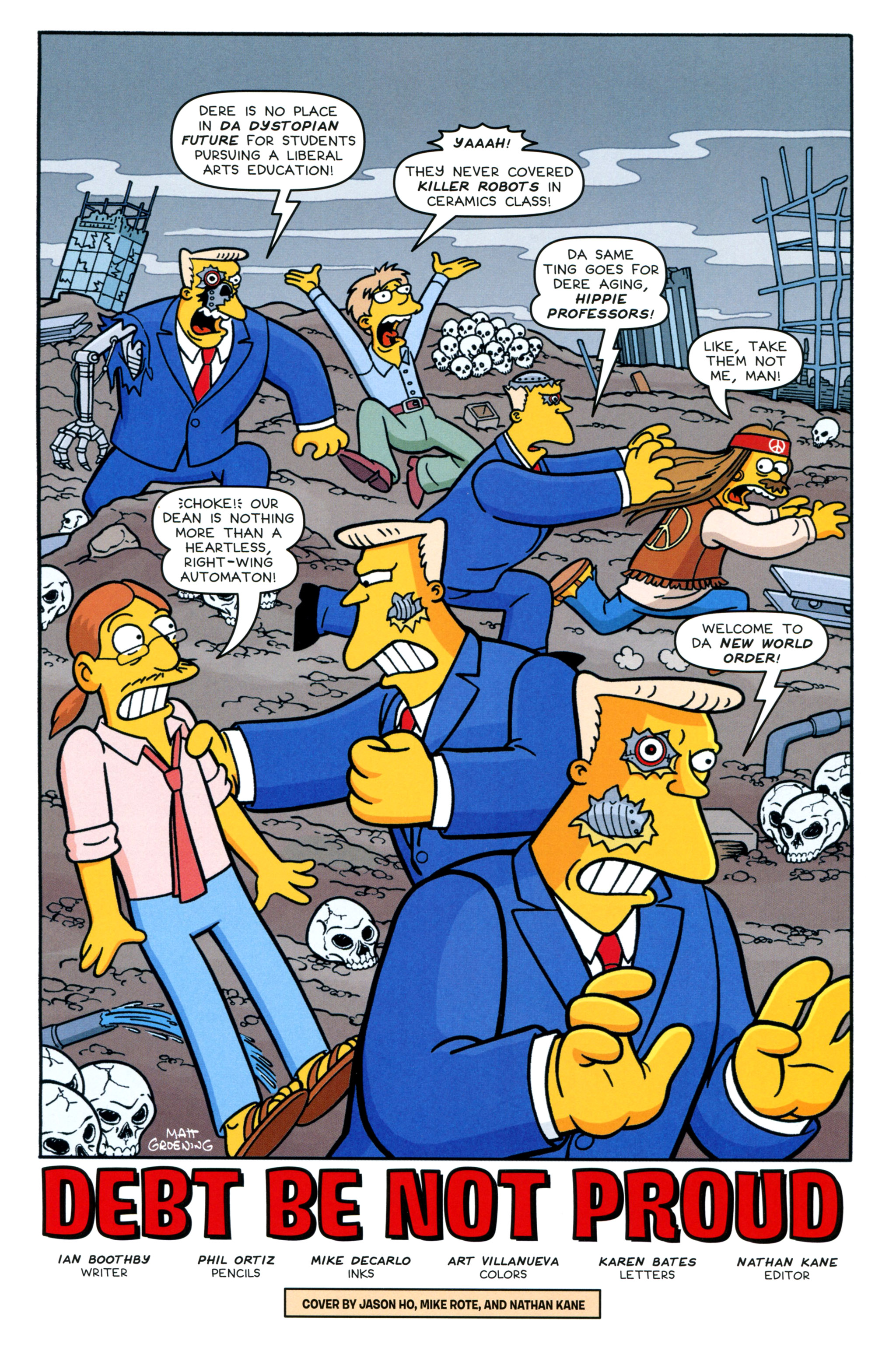 Read online Simpsons Comics comic -  Issue #213 - 3