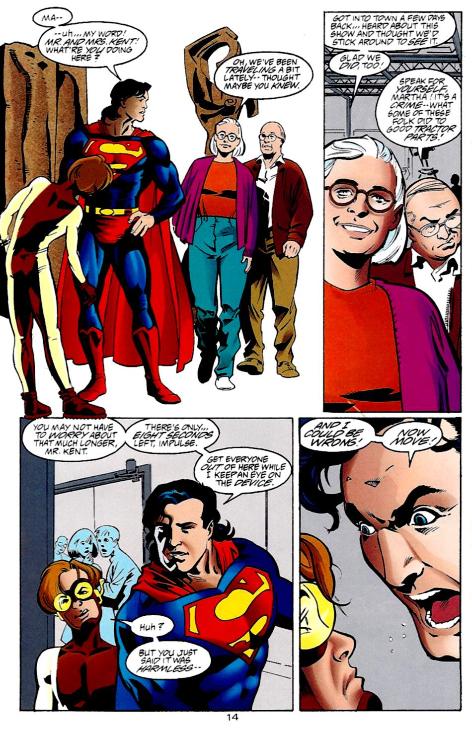 Read online Adventures of Superman (1987) comic -  Issue #533 - 15