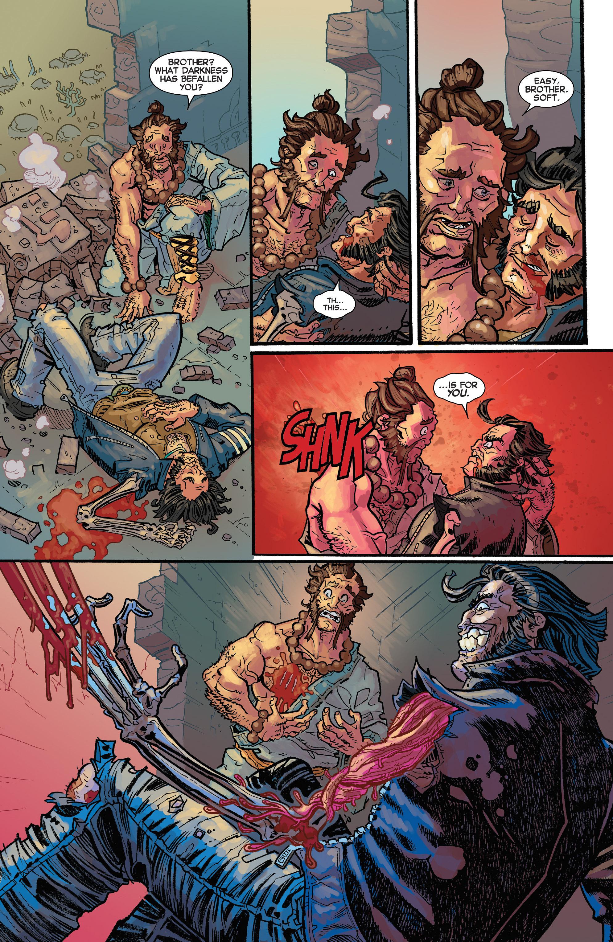 Read online Secret Wars Journal/Battleworld comic -  Issue # TPB - 172