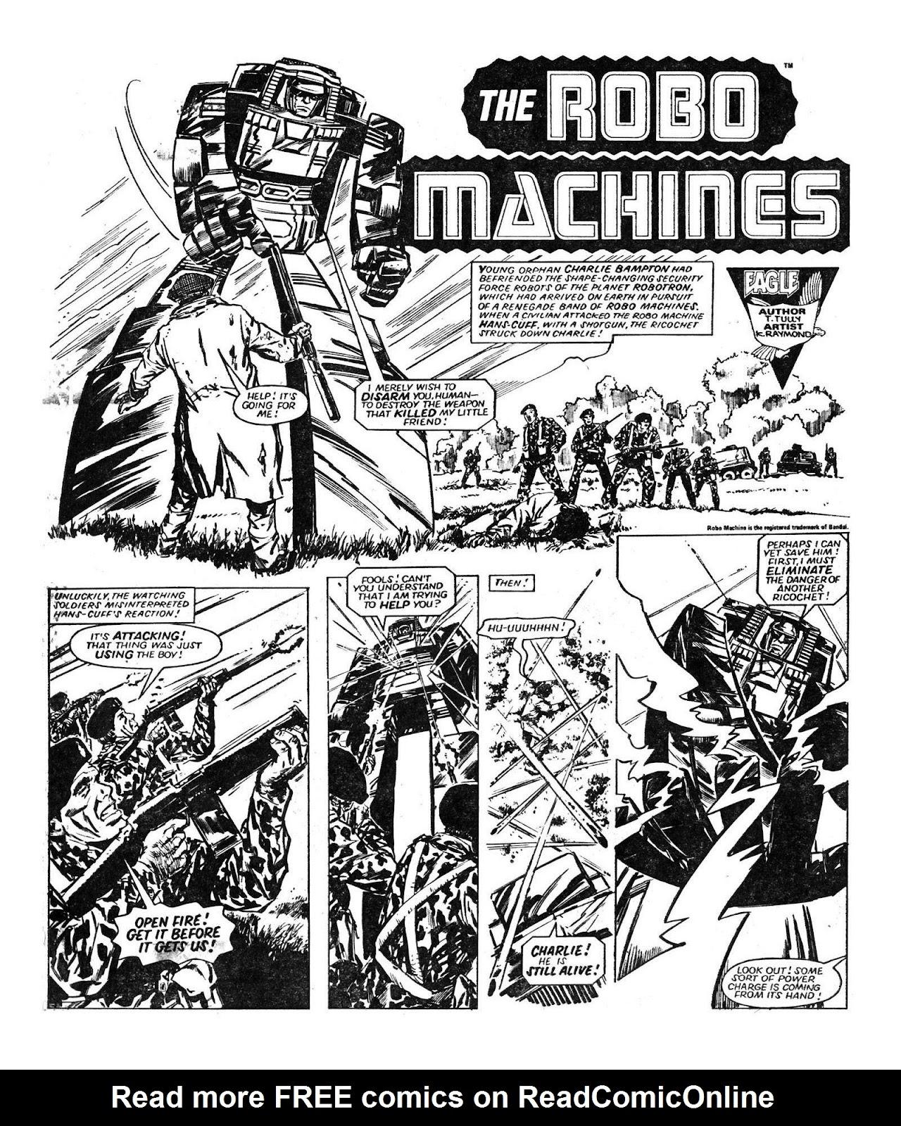 Read online Robo Machines comic -  Issue # TPB - 39