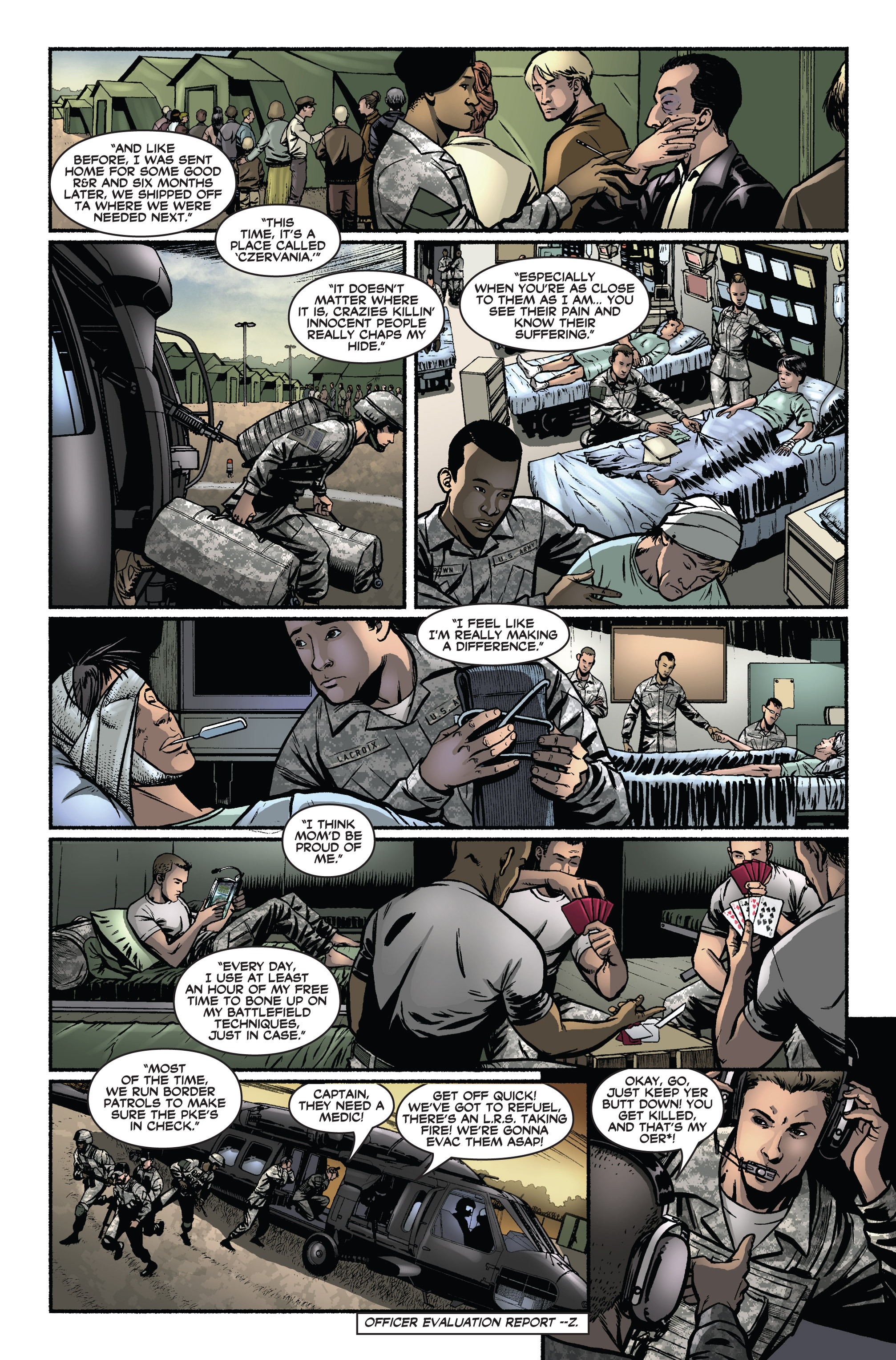 Read online America's Army comic -  Issue #2 - 21