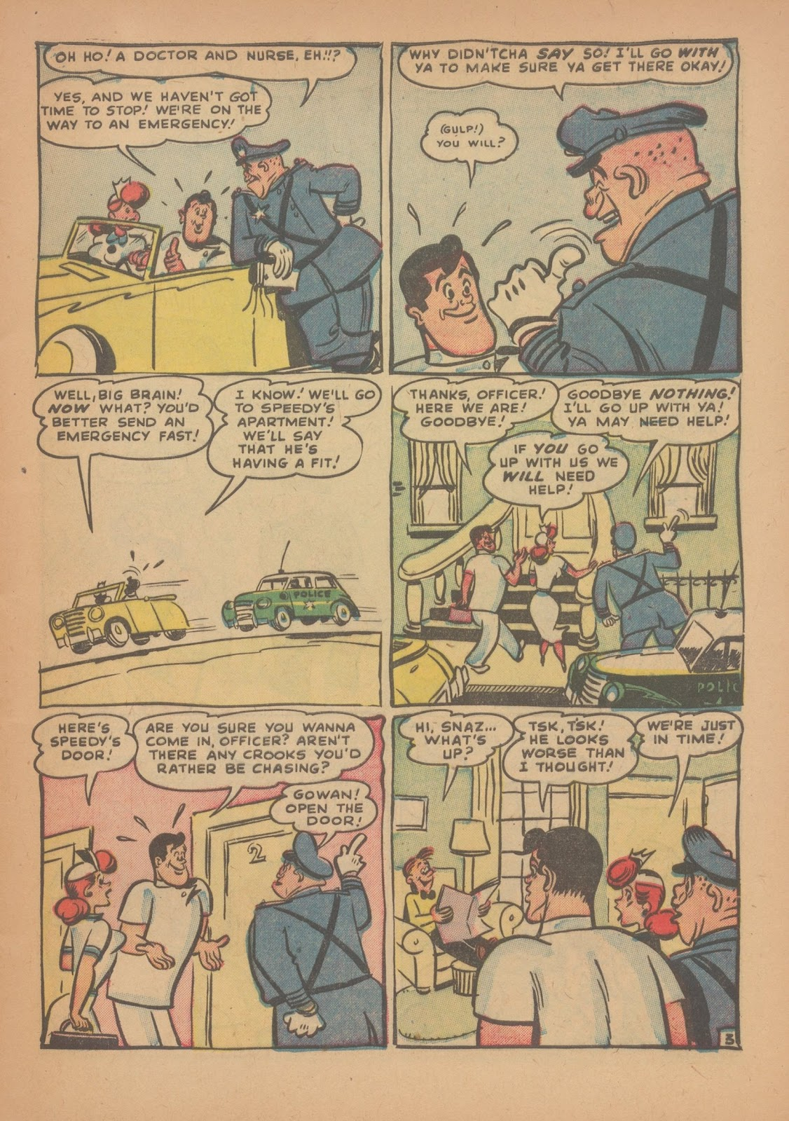Read online Nellie The Nurse (1945) comic -  Issue #34 - 5