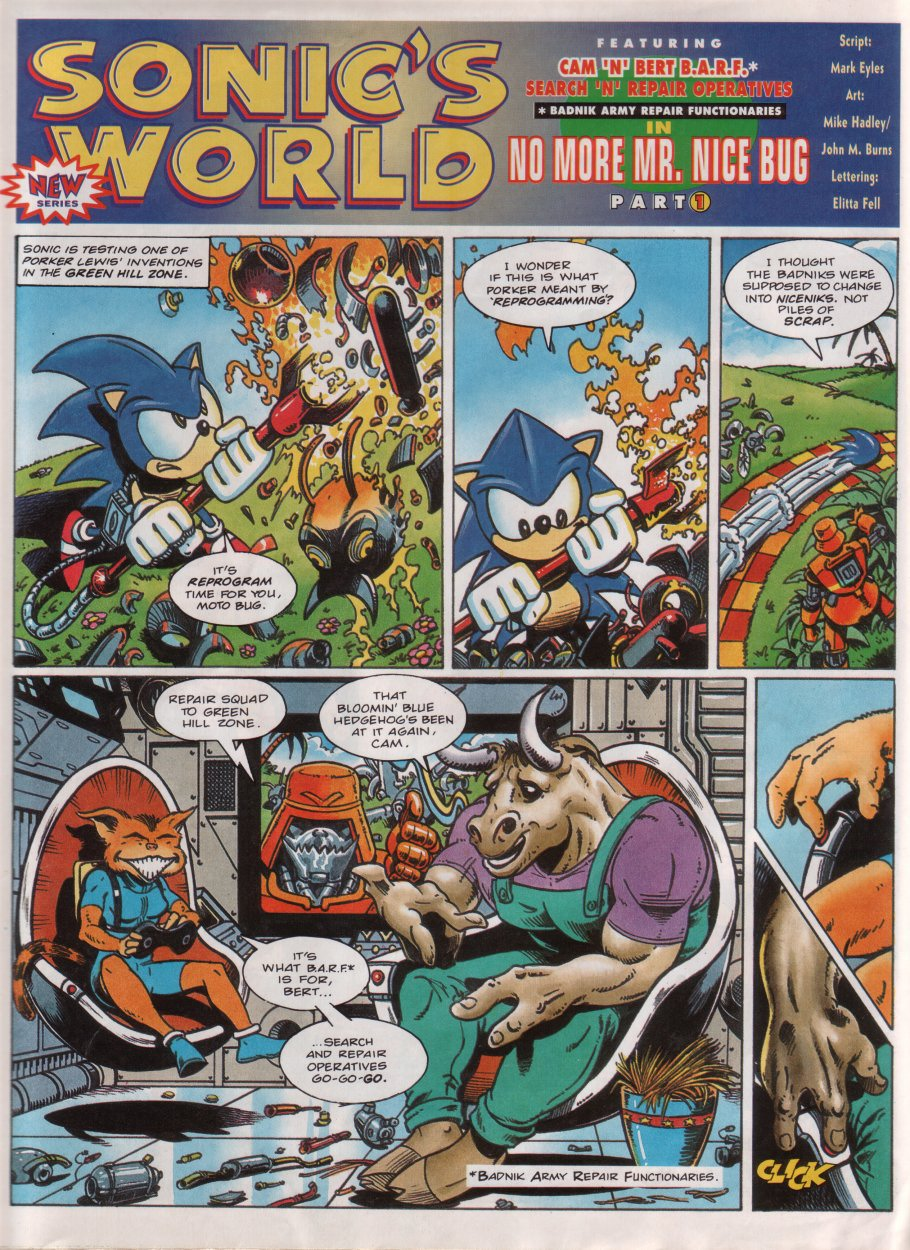 Read online Sonic the Comic comic -  Issue #32 - 19