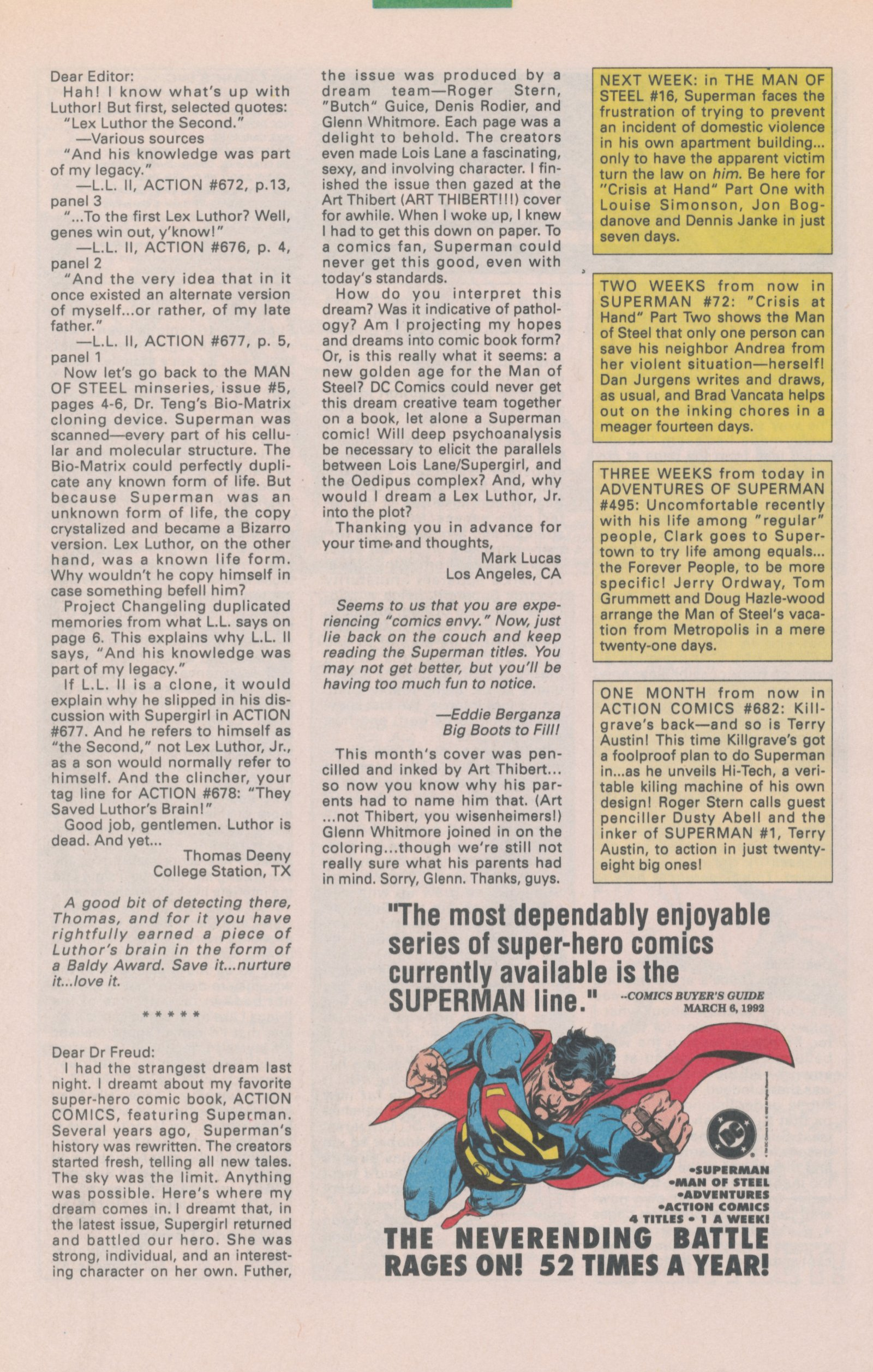 Read online Action Comics (1938) comic -  Issue #681 - 34