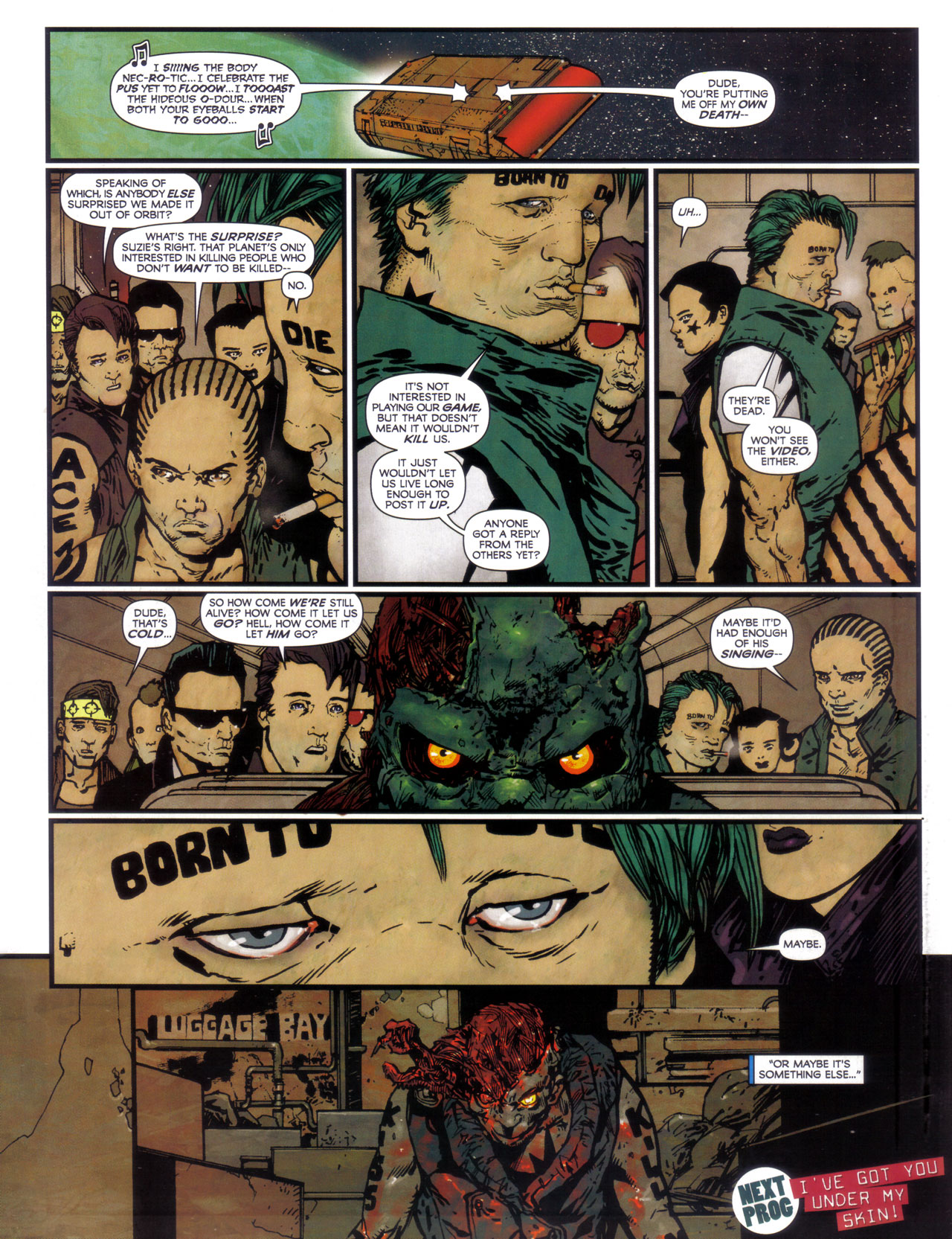 Read online 2000 AD comic -  Issue #1746 - 50