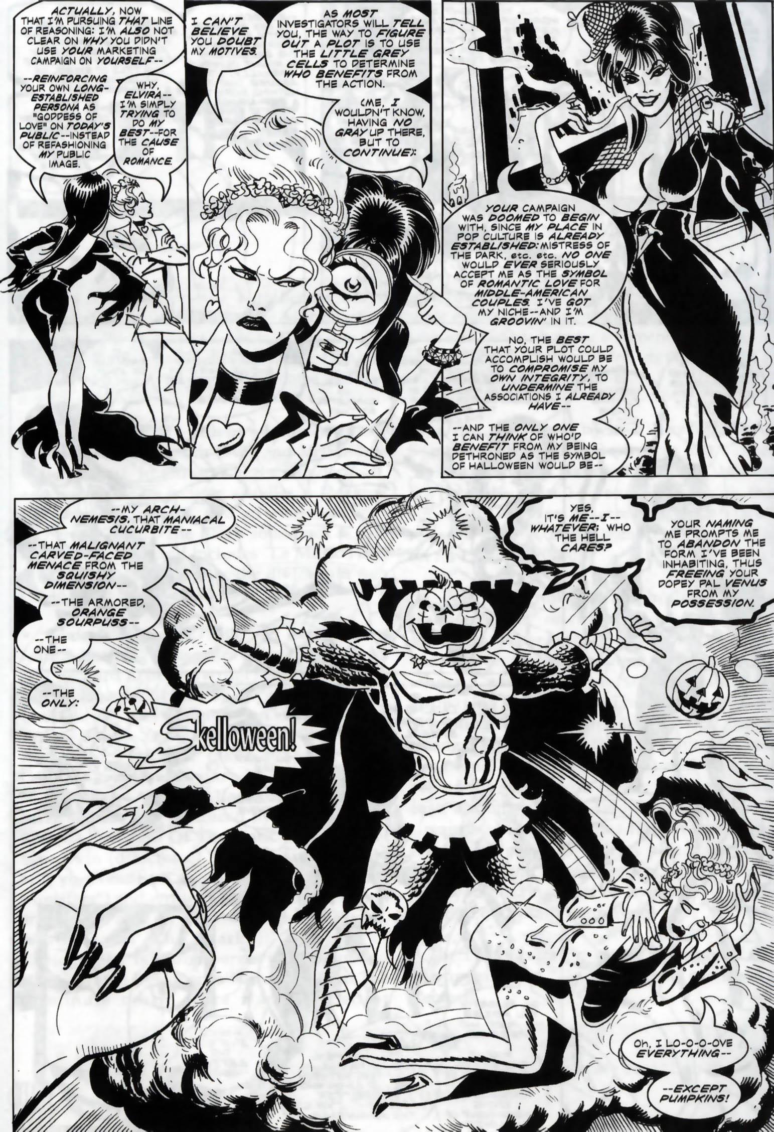 Read online Elvira, Mistress of the Dark comic -  Issue #119 - 24