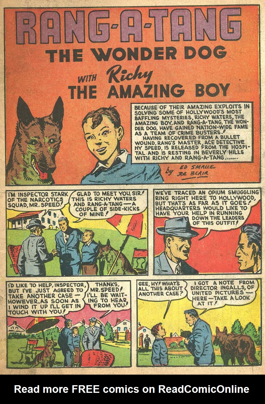 Blue Ribbon Comics (1939) issue 8 - Page 3