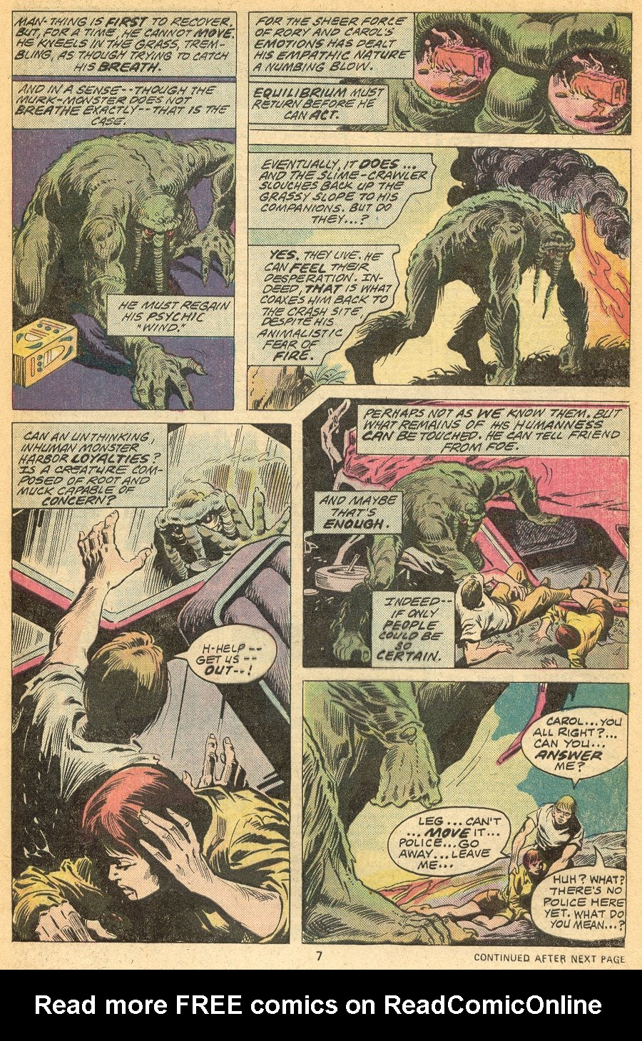 Man-Thing (1974) issue 20 - Page 6