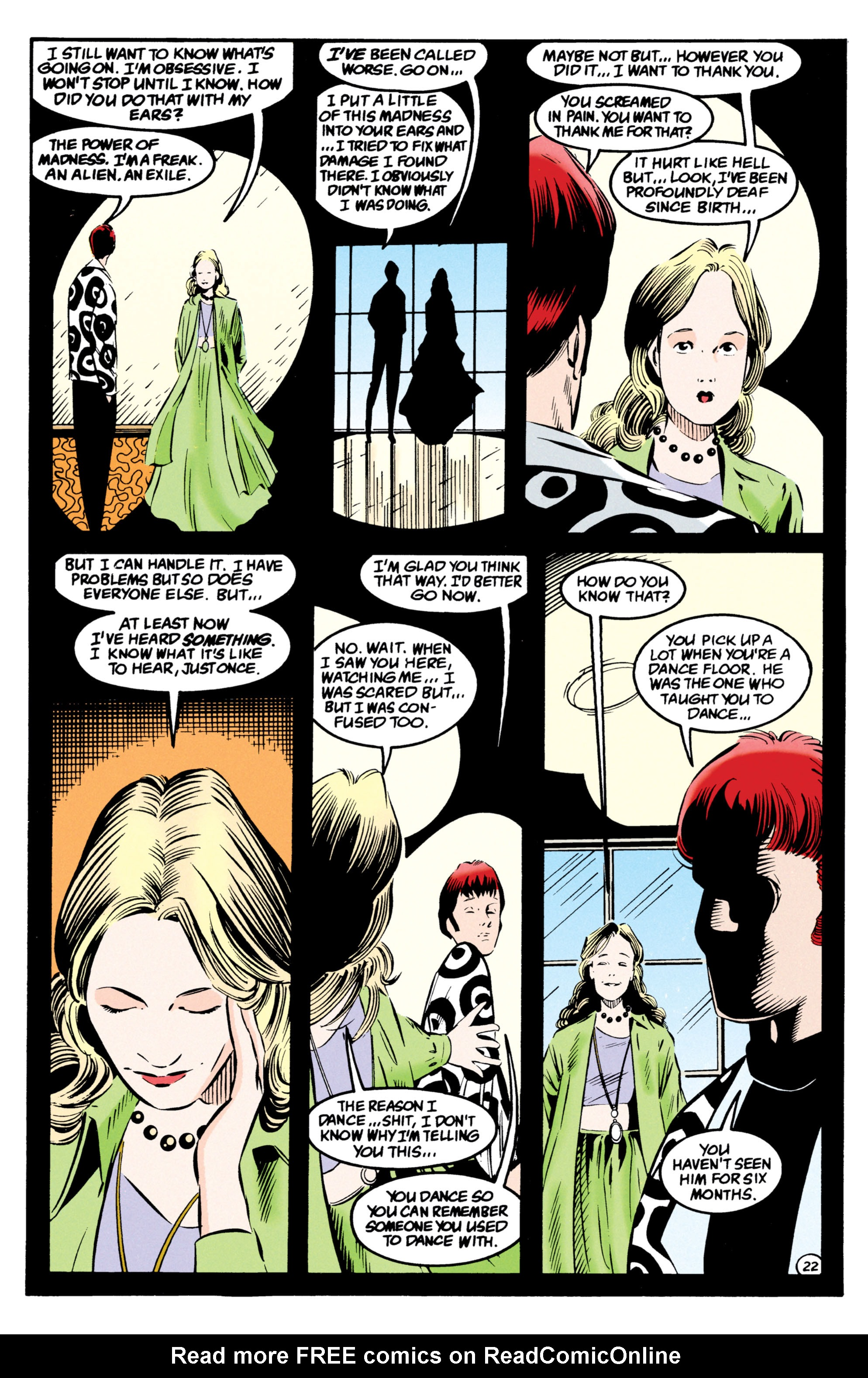 Read online Shade, the Changing Man comic -  Issue #54 - 23
